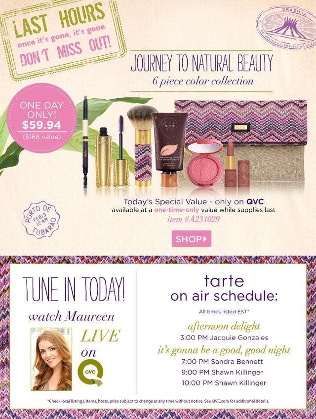 Bianca Londono - QVC TSV Journey to Natural Beauty Campaign