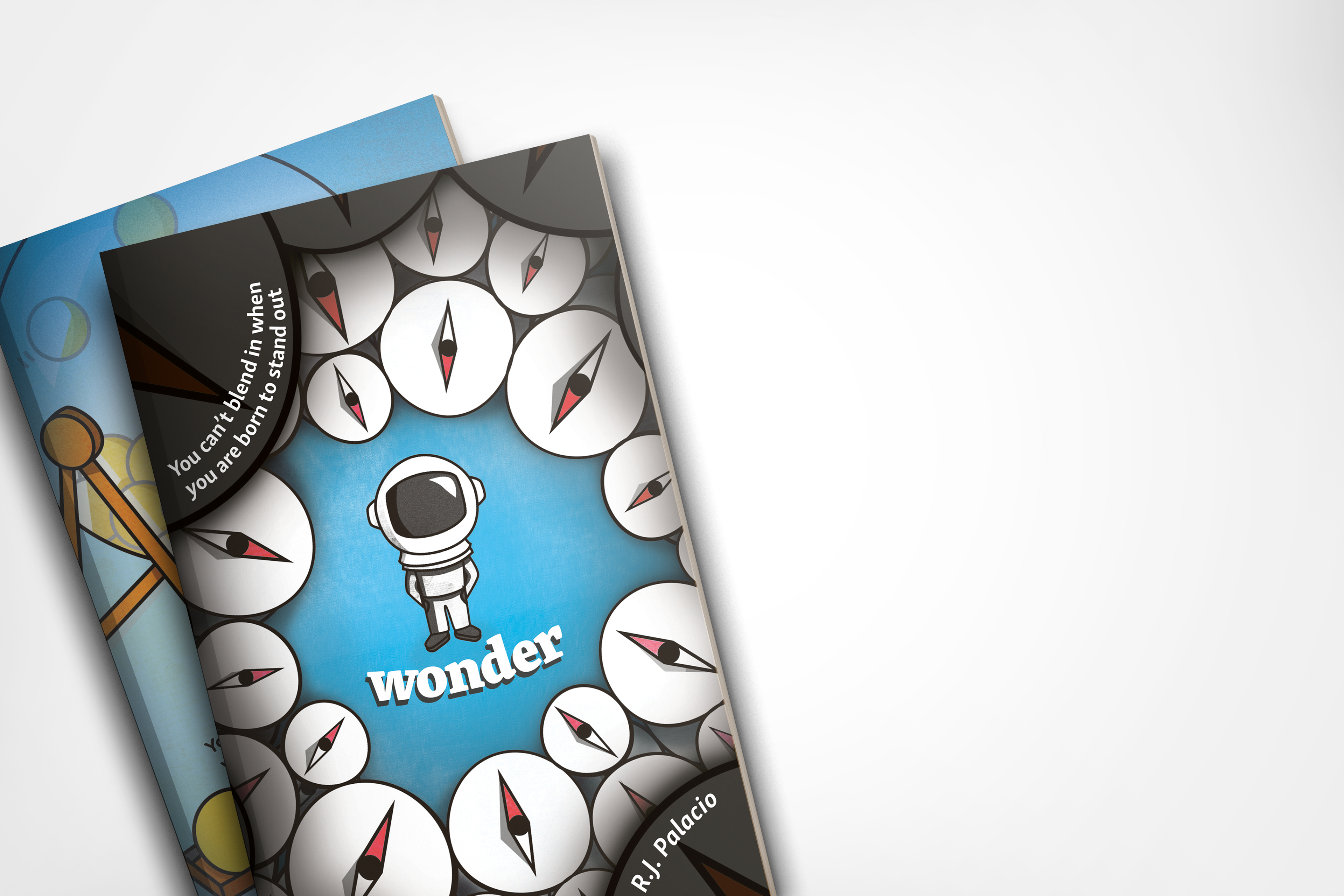 Laura Marshall - Book Covers: Wonder- Penguin Competition