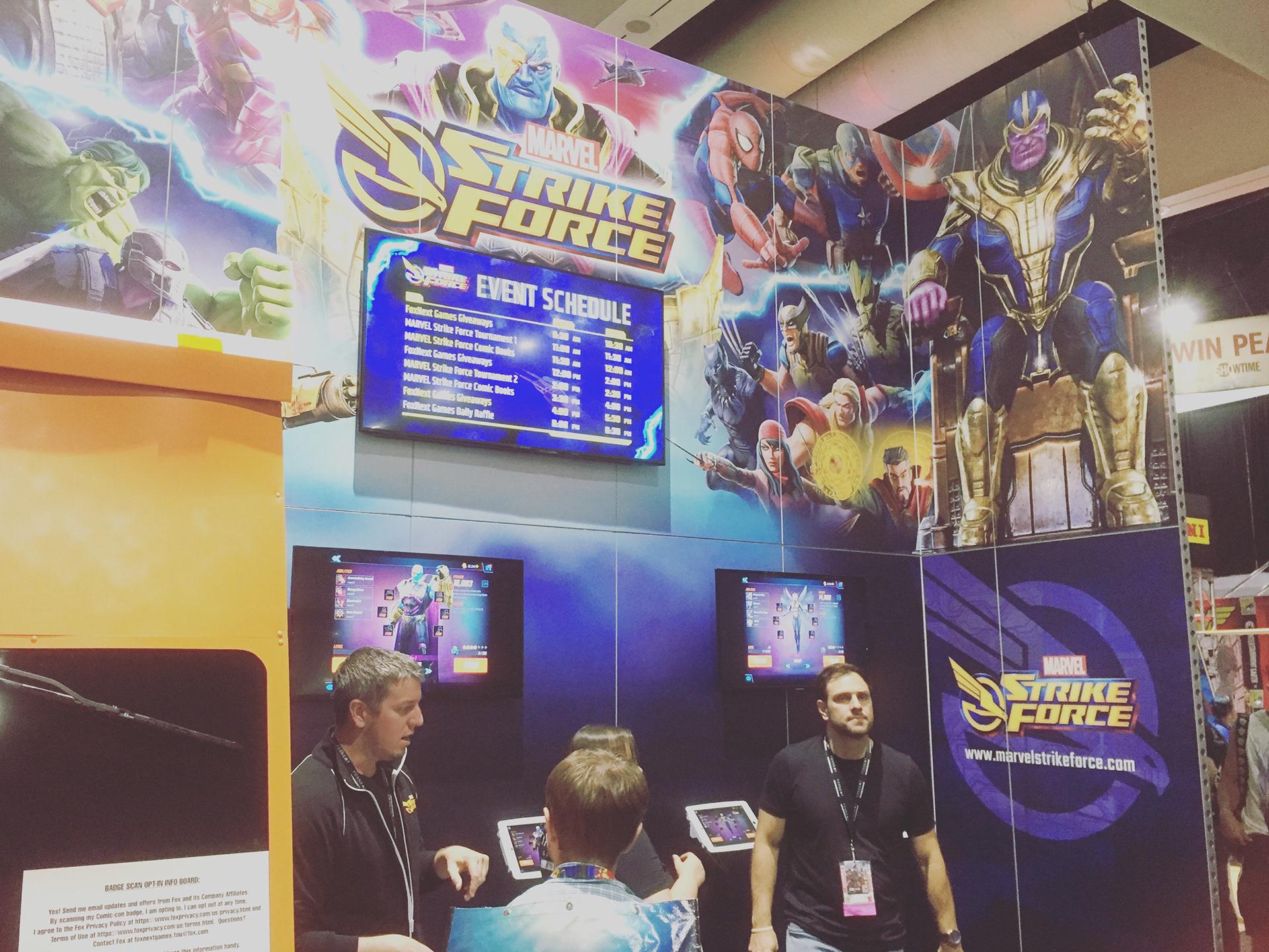 Steve Espinoza - Marvel Strike Force Marketing Assets