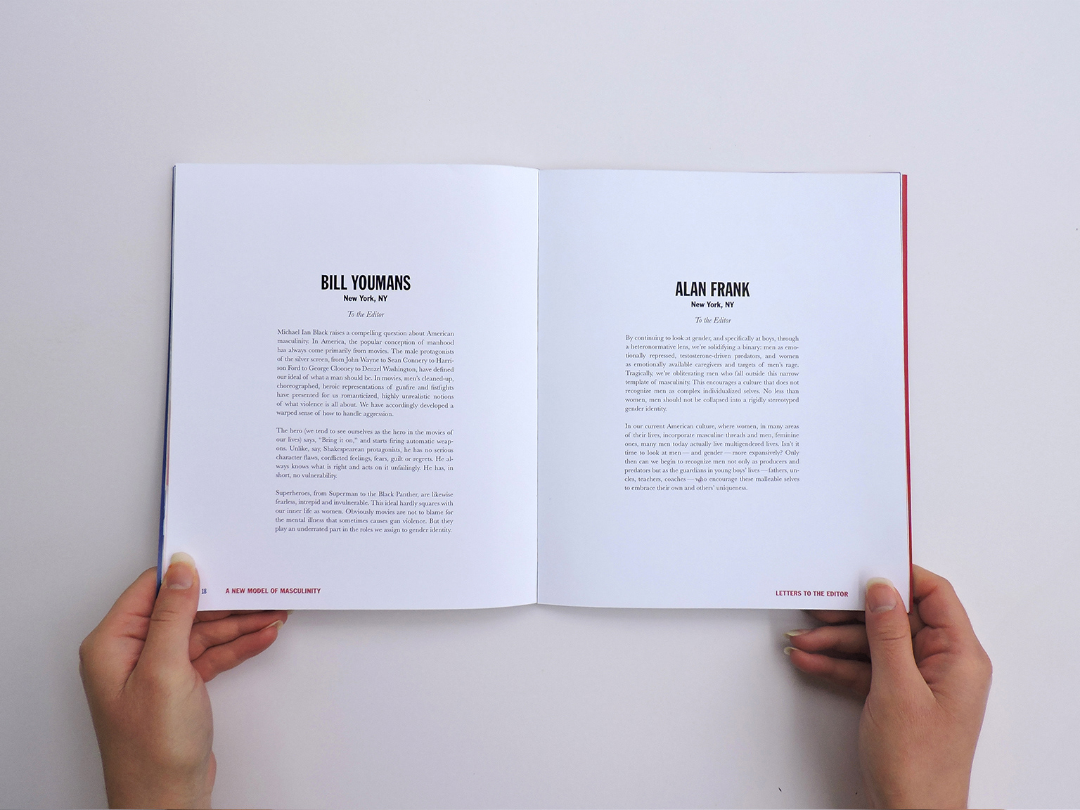 Jack Frischer - Masculinity: An Upside Down Definition