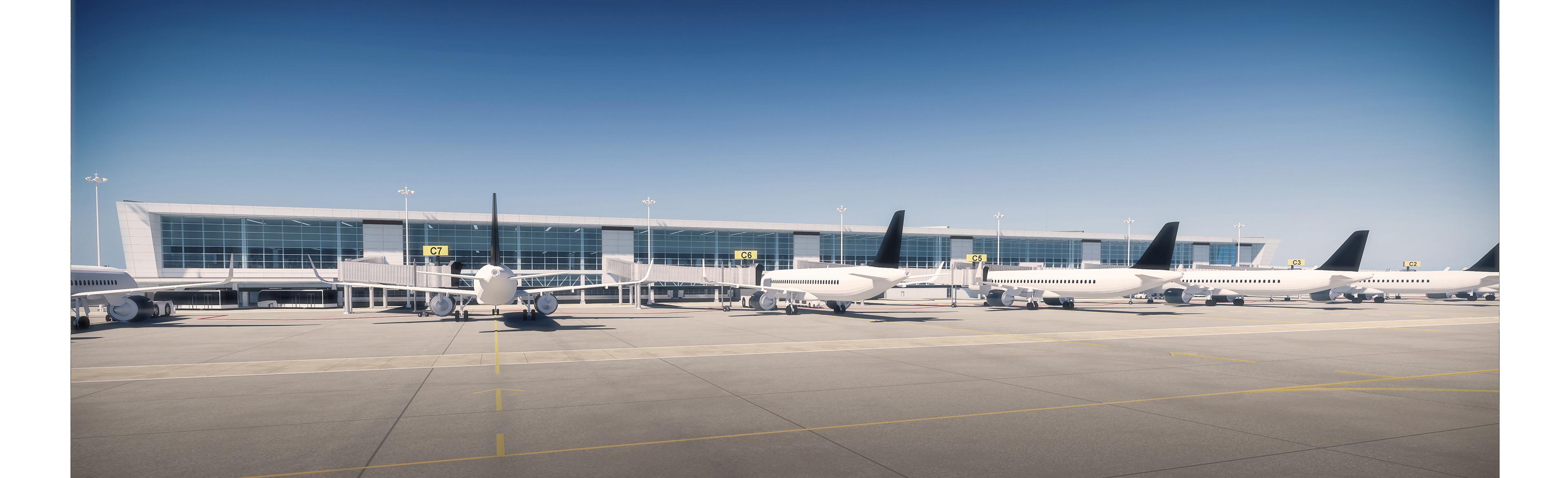 HTT arquitectura - Aeropuerto de Merida