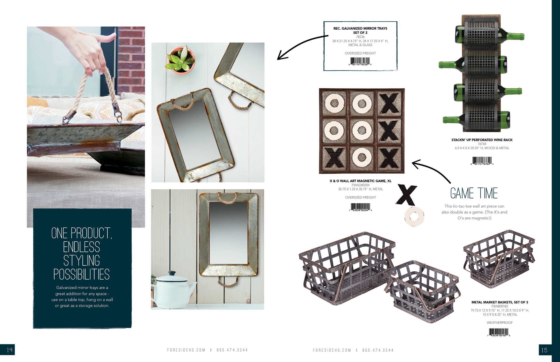 Megan La Londe Home Decor Catalog Merchandising Design