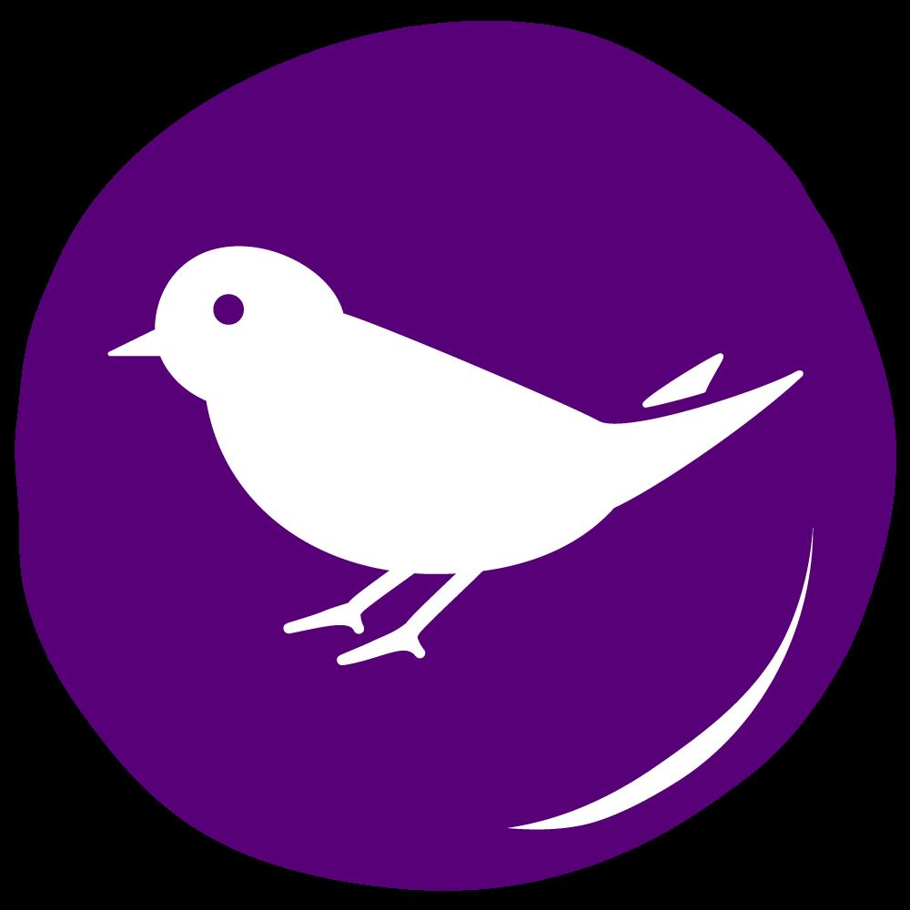 Purple Martin Lettering