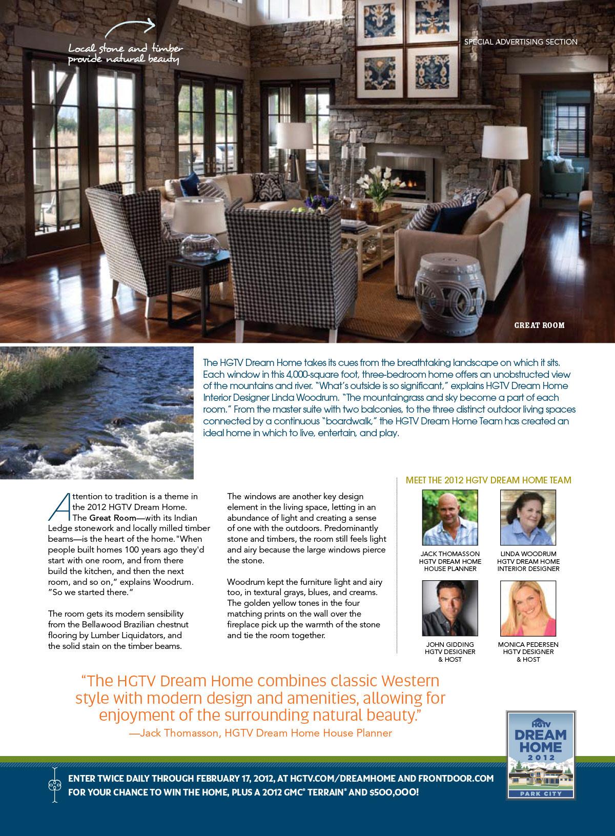 Lisa Minardi - HGTV Dream Home 2012