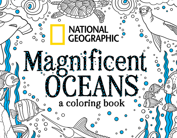 Justin Poulter - National Geographic Coloring Book