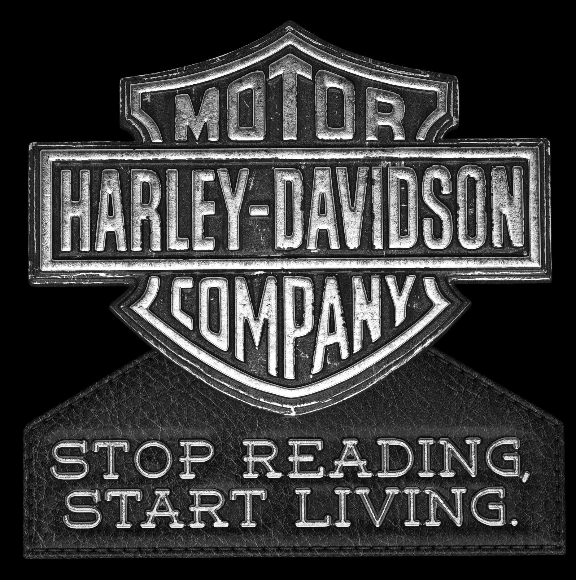 marek motalik 3d design harley davidson logo