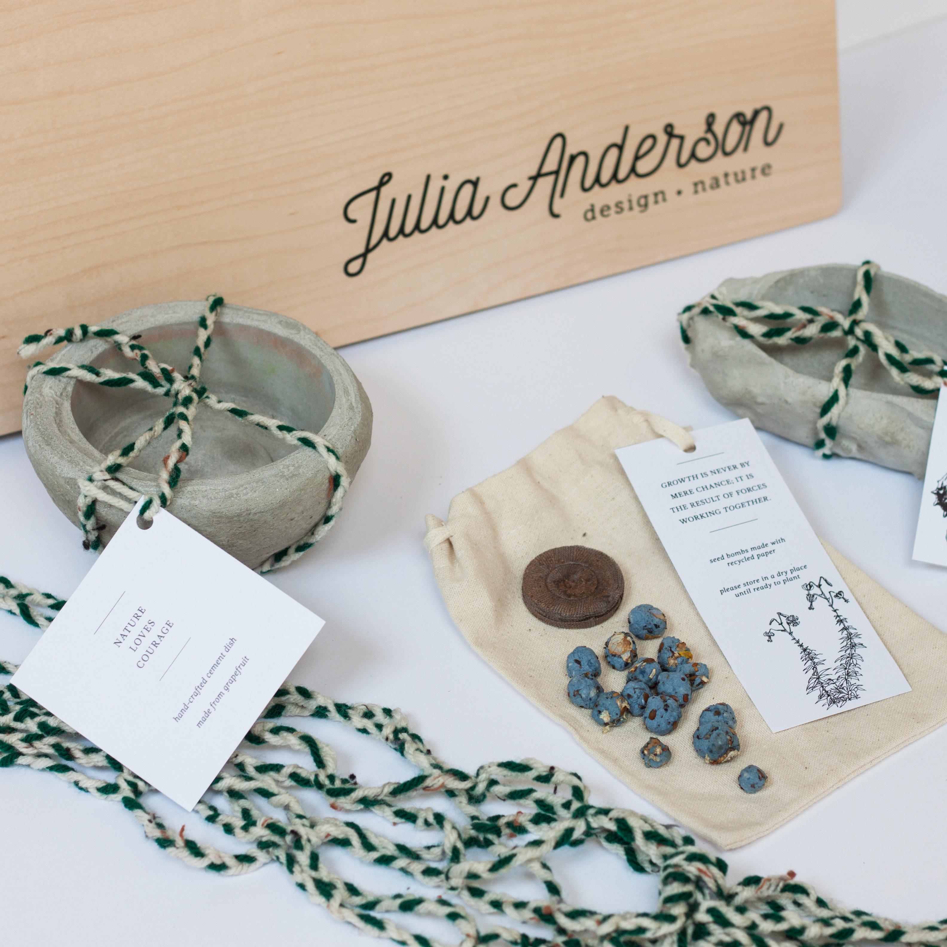 Julia Anderson\'s Portfolio - Personal Identity System