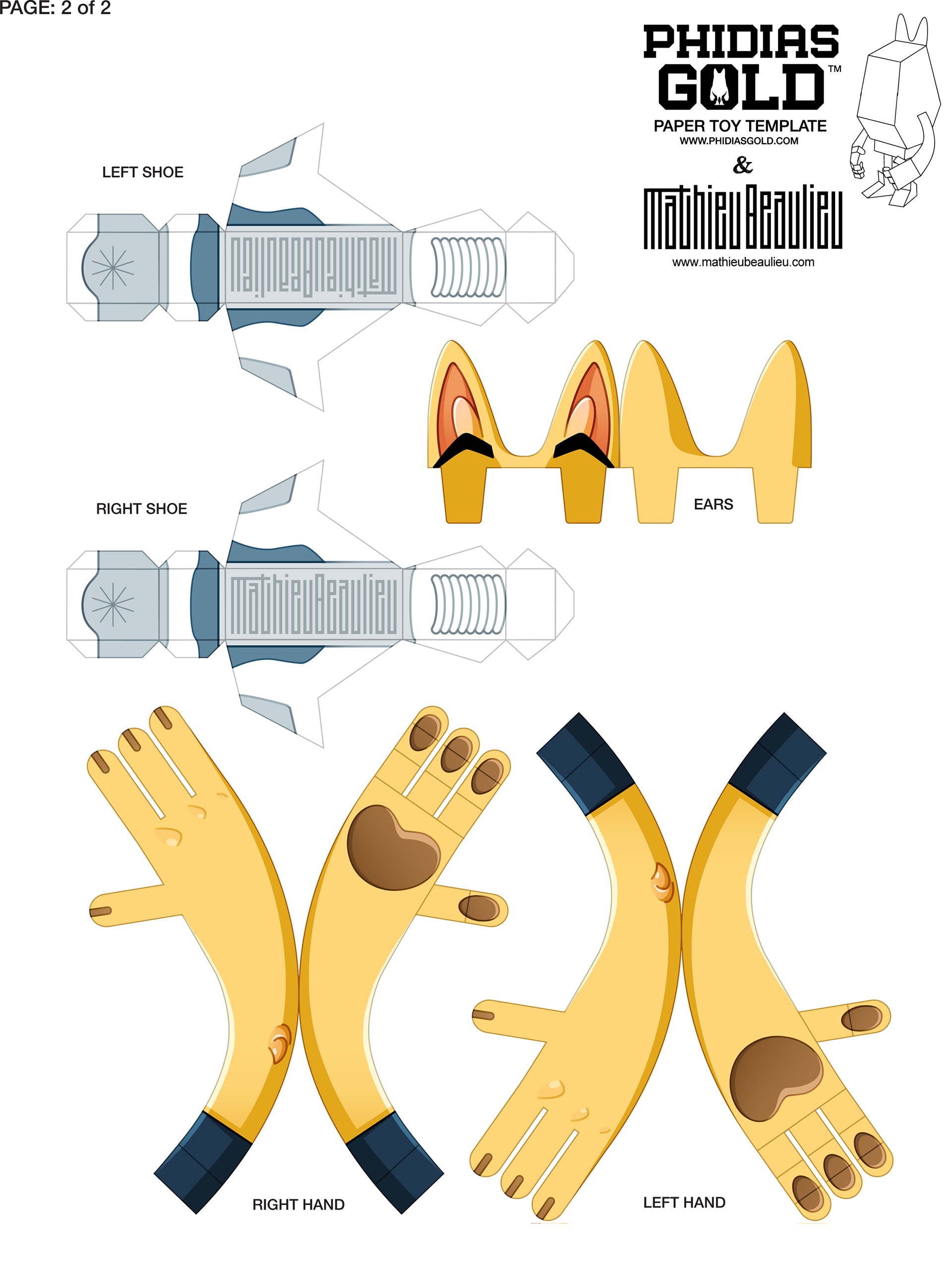 Feel Free To Download And Print This Template If You Wish Build Your Own Yellow Dog Model