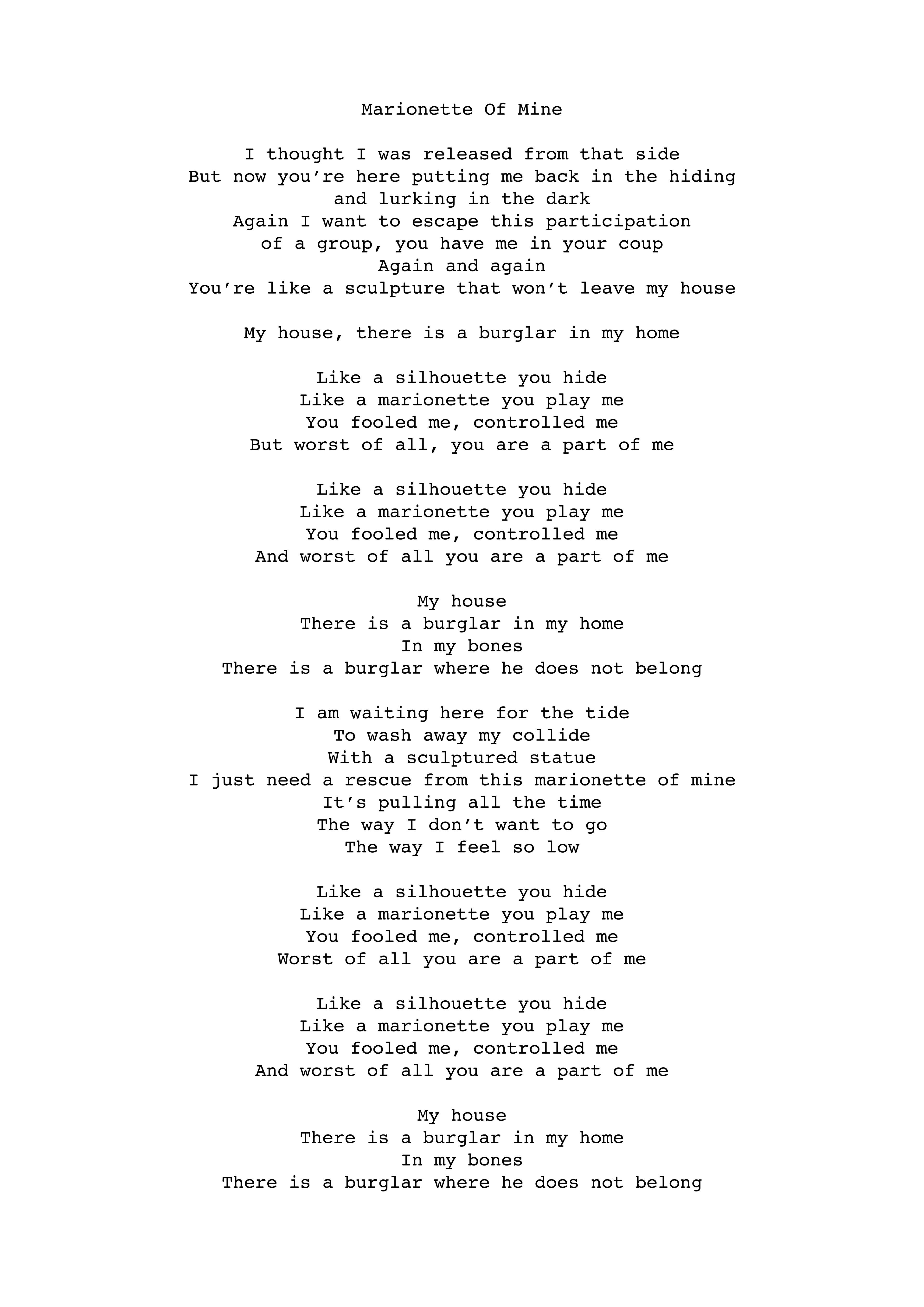 Akiko Mik - Lyrics