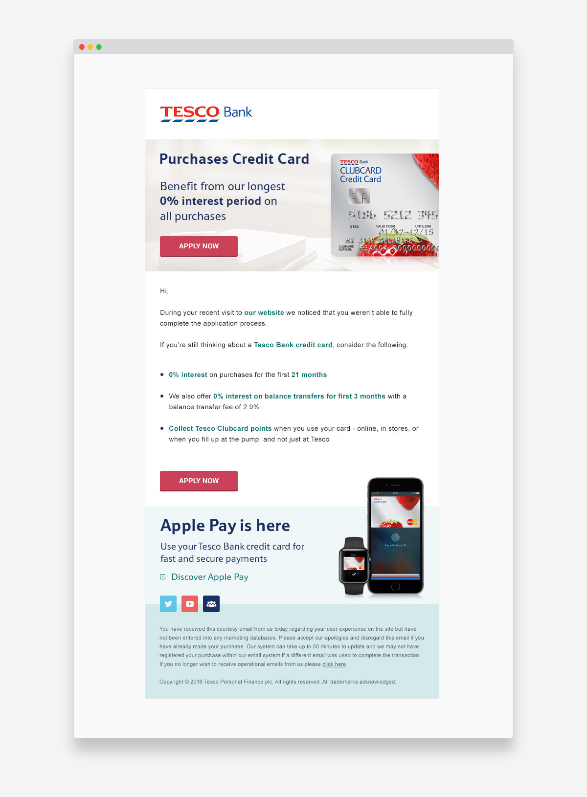 Daniel Eris Graphic And Web Design Tesco Bank