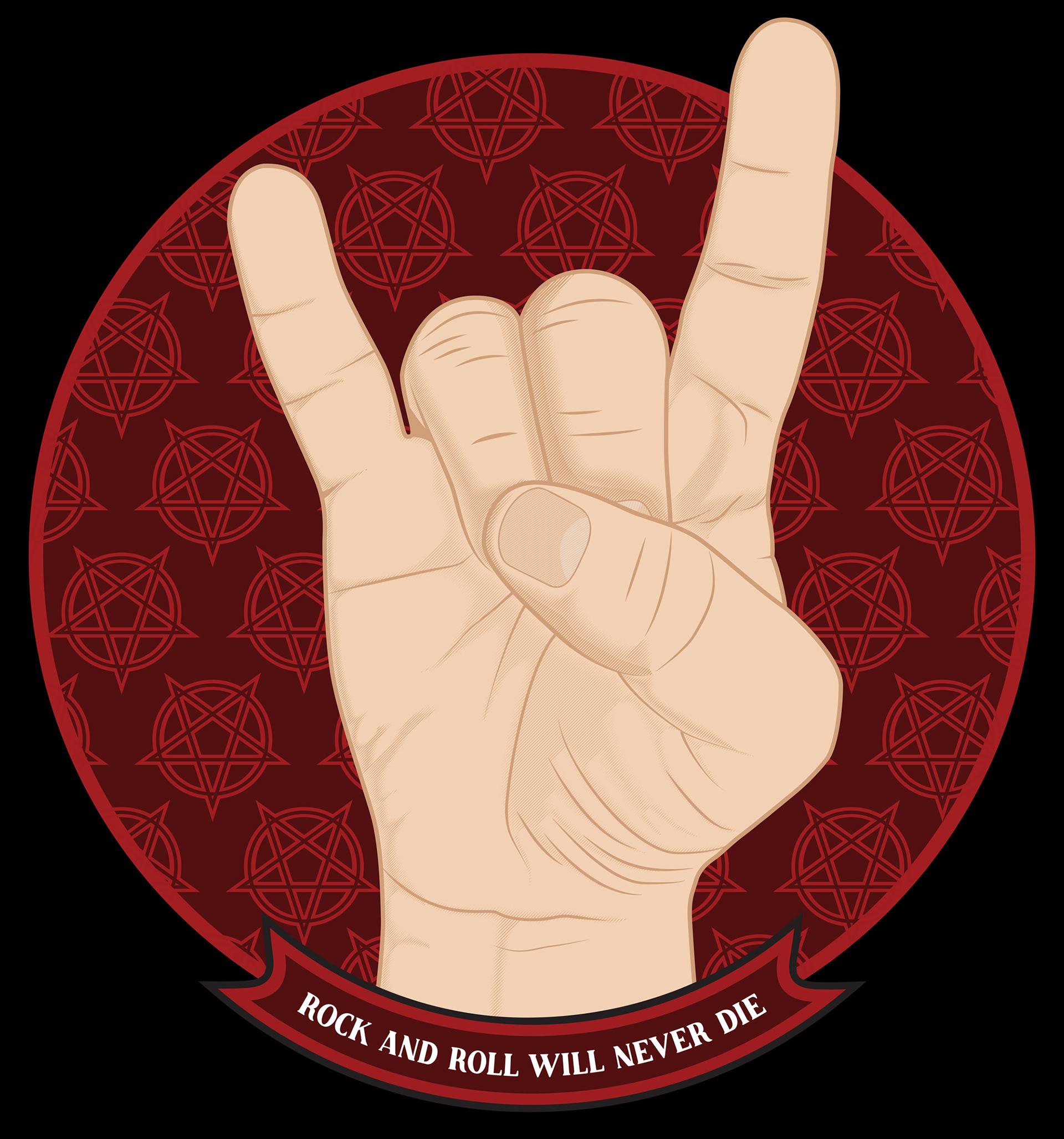 Travis Miller Design - Rock-n-roll will never die cfac208304c