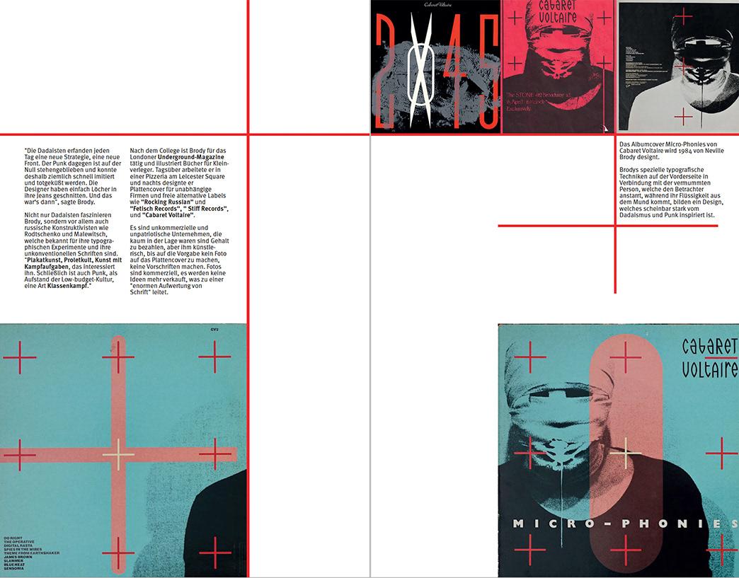 Sonja Schulte - Neville Brody typographic book