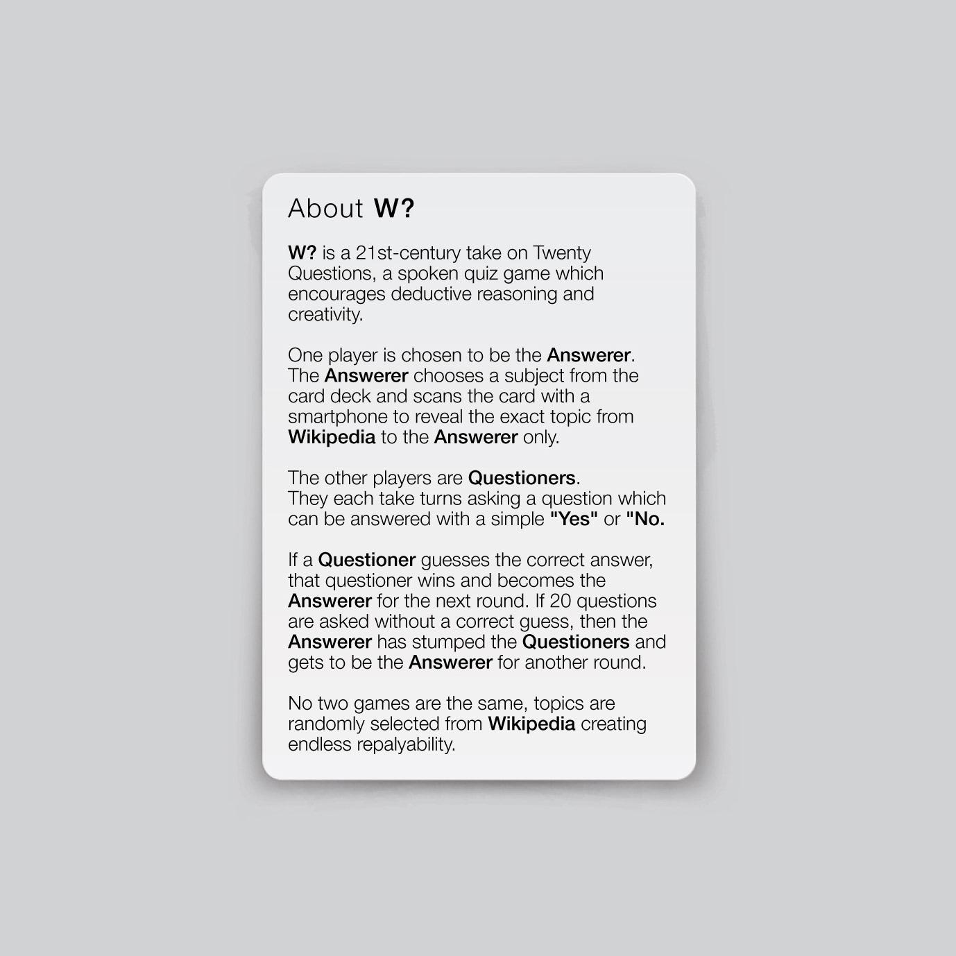 Mirko Arico-Torreno - Wikipedia Twenty Questions
