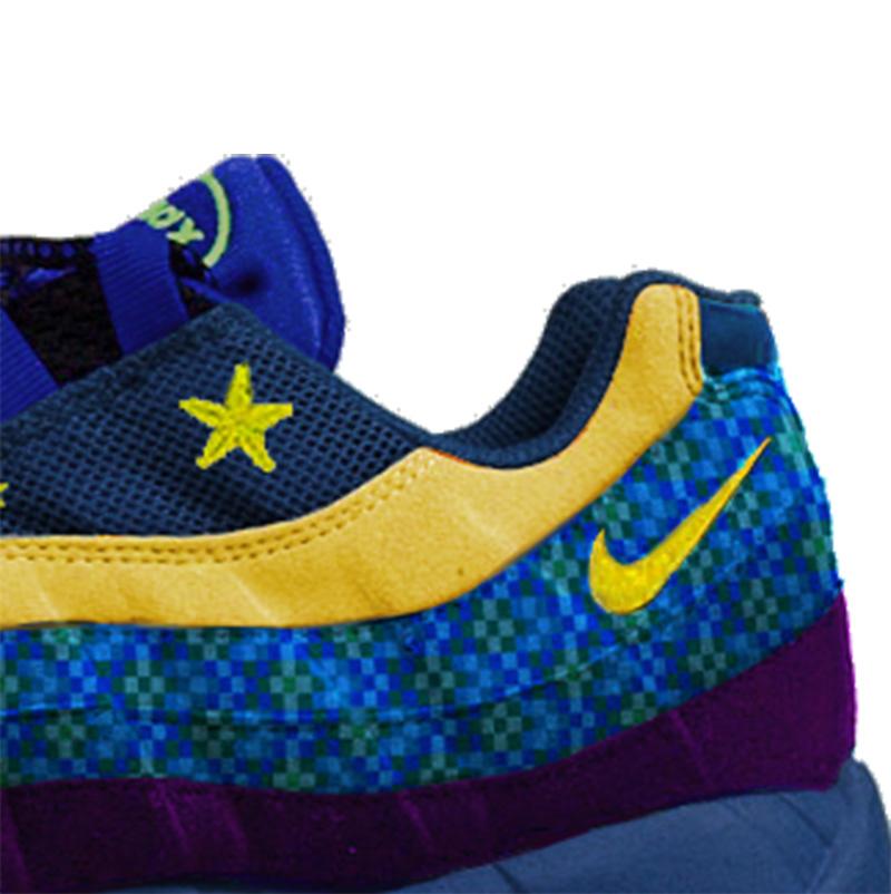 Joojaebum Pixel Art Masterpiece Series X Nike Air Max 95