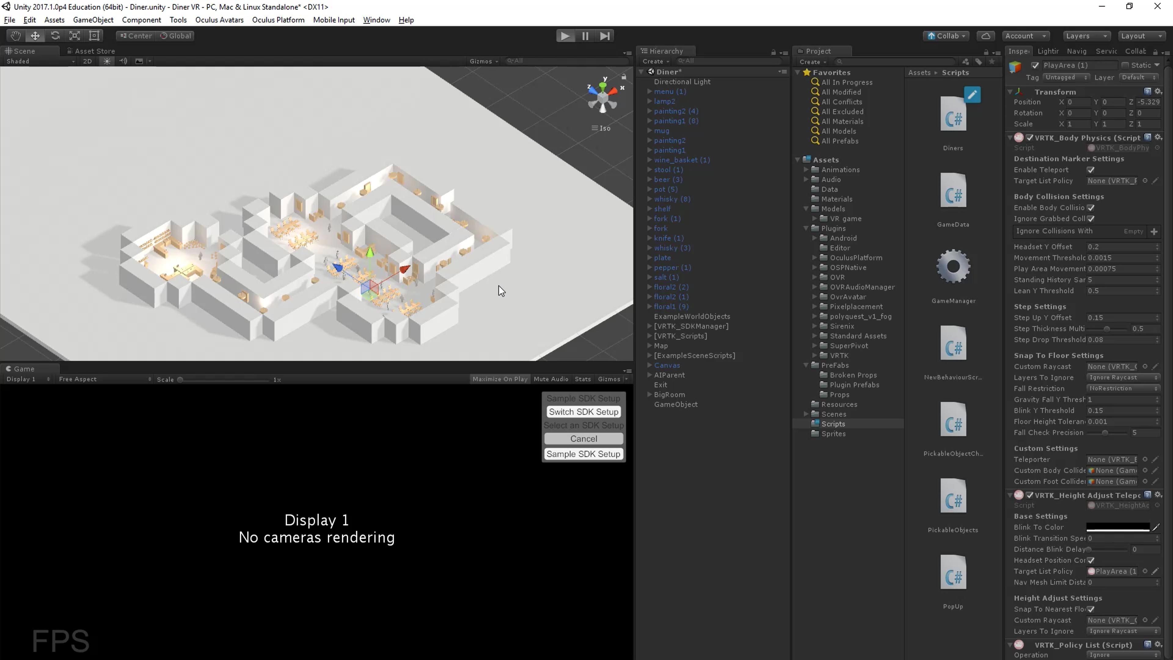 Jacob Estrella - Level Designer - Diner VR