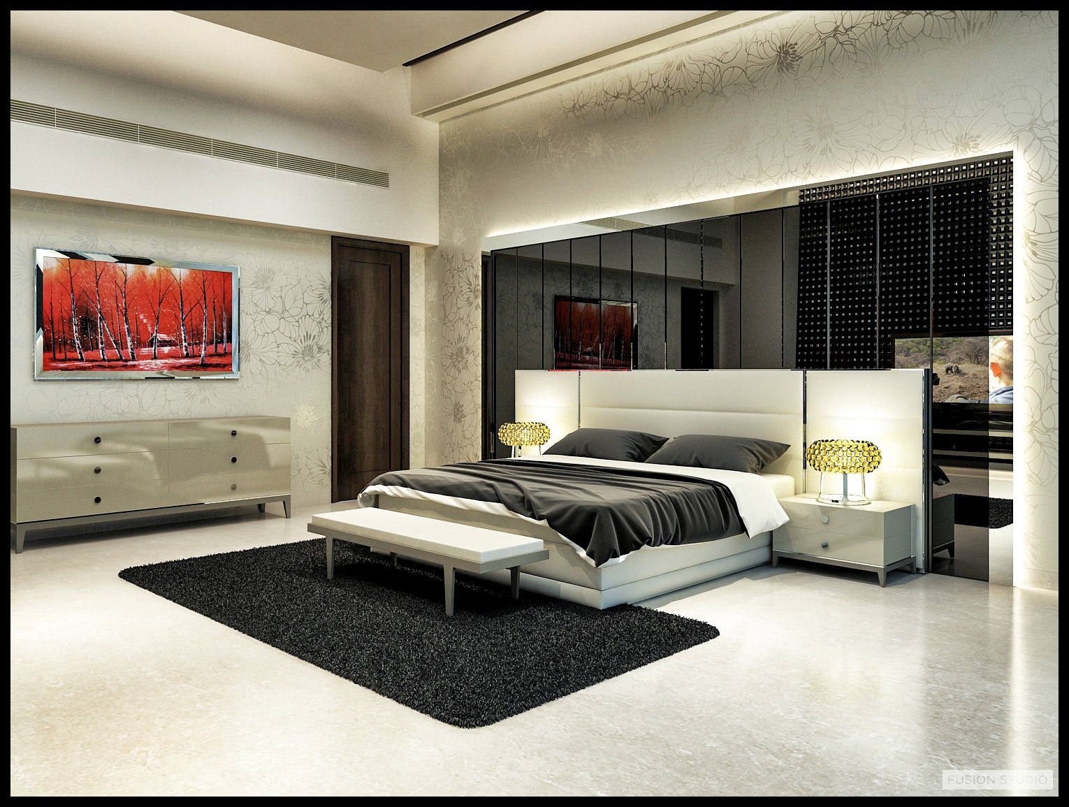 7 Small Bedroom Designs By Professional Experts: Fusion Studio