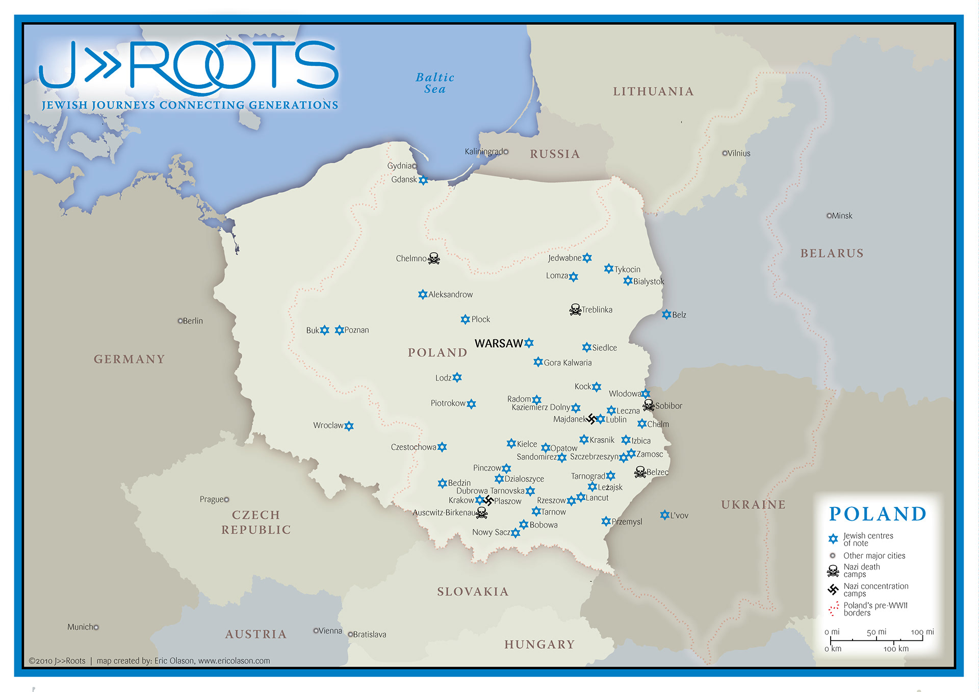 Concentration Camps In Europe Map.Eric Olason Mapmaker Cartographic Artist Nazi Death Camp Tour