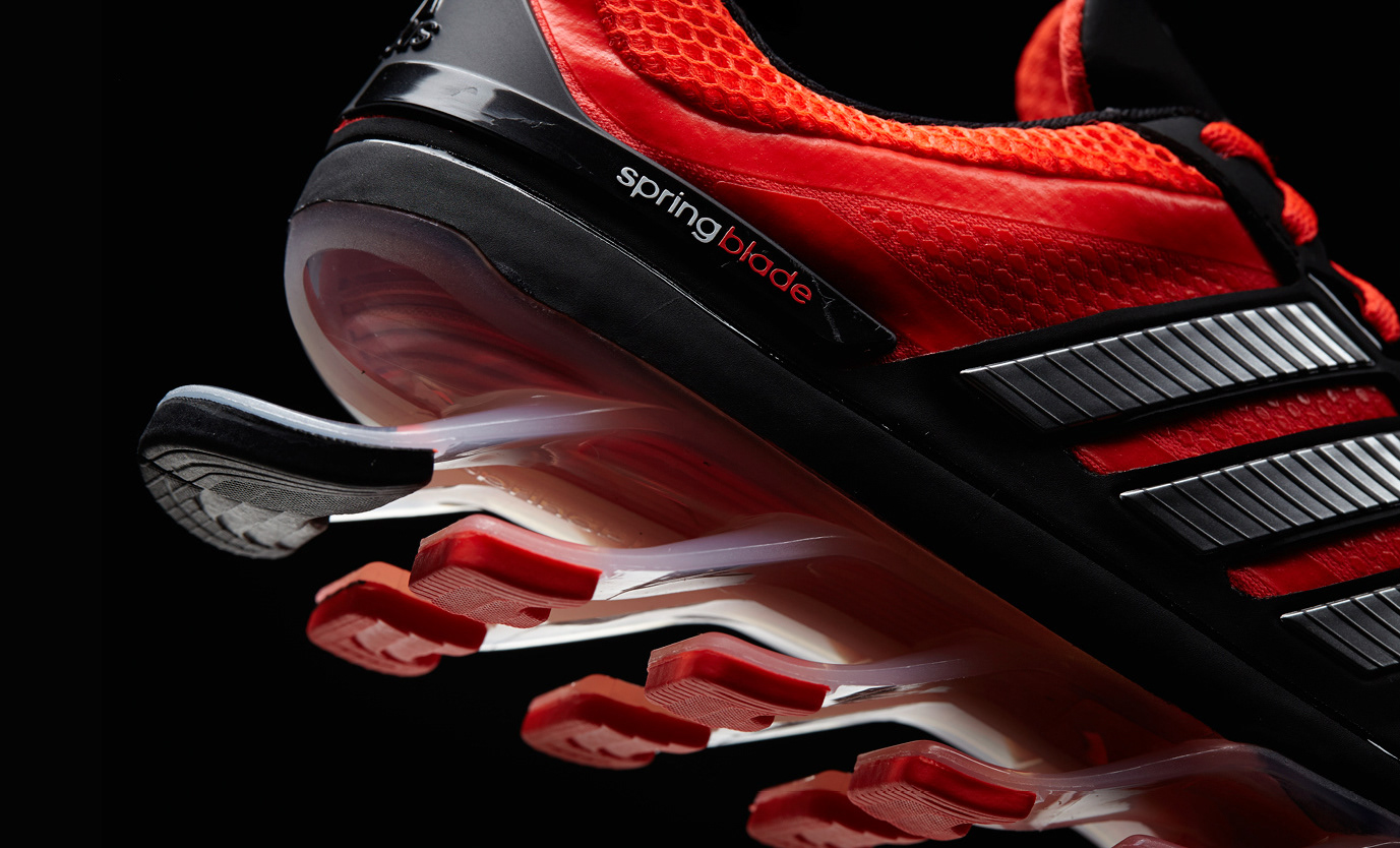 0ade79ddbc9f ... to take the adidas global SPRINGBLADE creative to US Retail and  successfully launch the innovative running shoe. The project deliverables  included ...