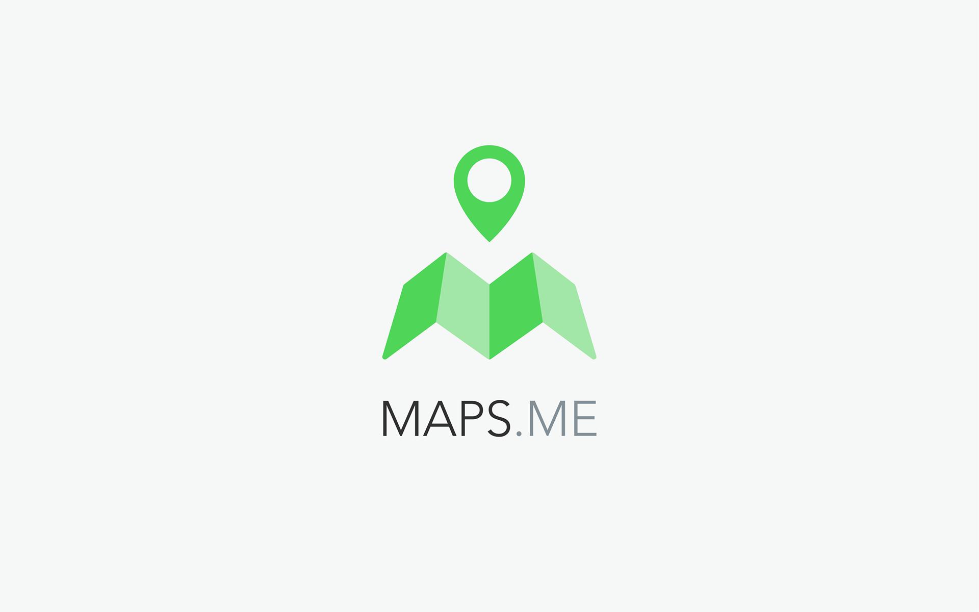 Maria Babak – Product Designer - MAPS ME Logo & App Icon Concept