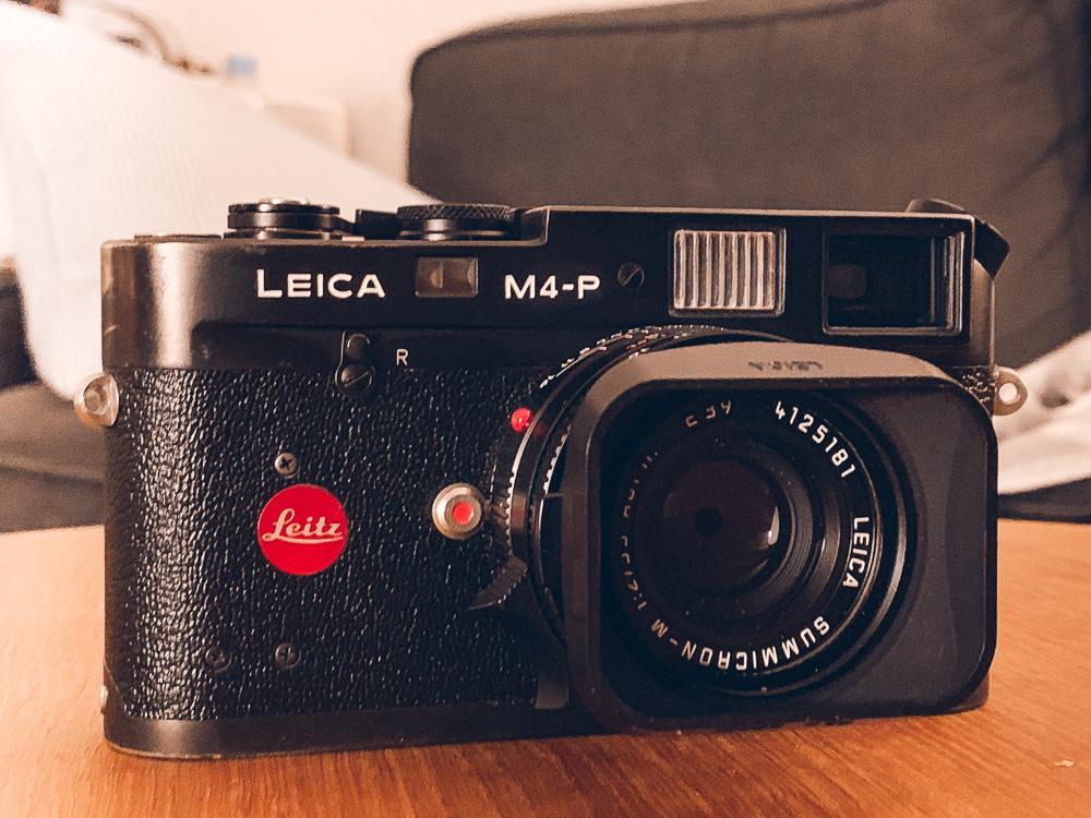 Nils Meder - Leica M4-P Refurbishment