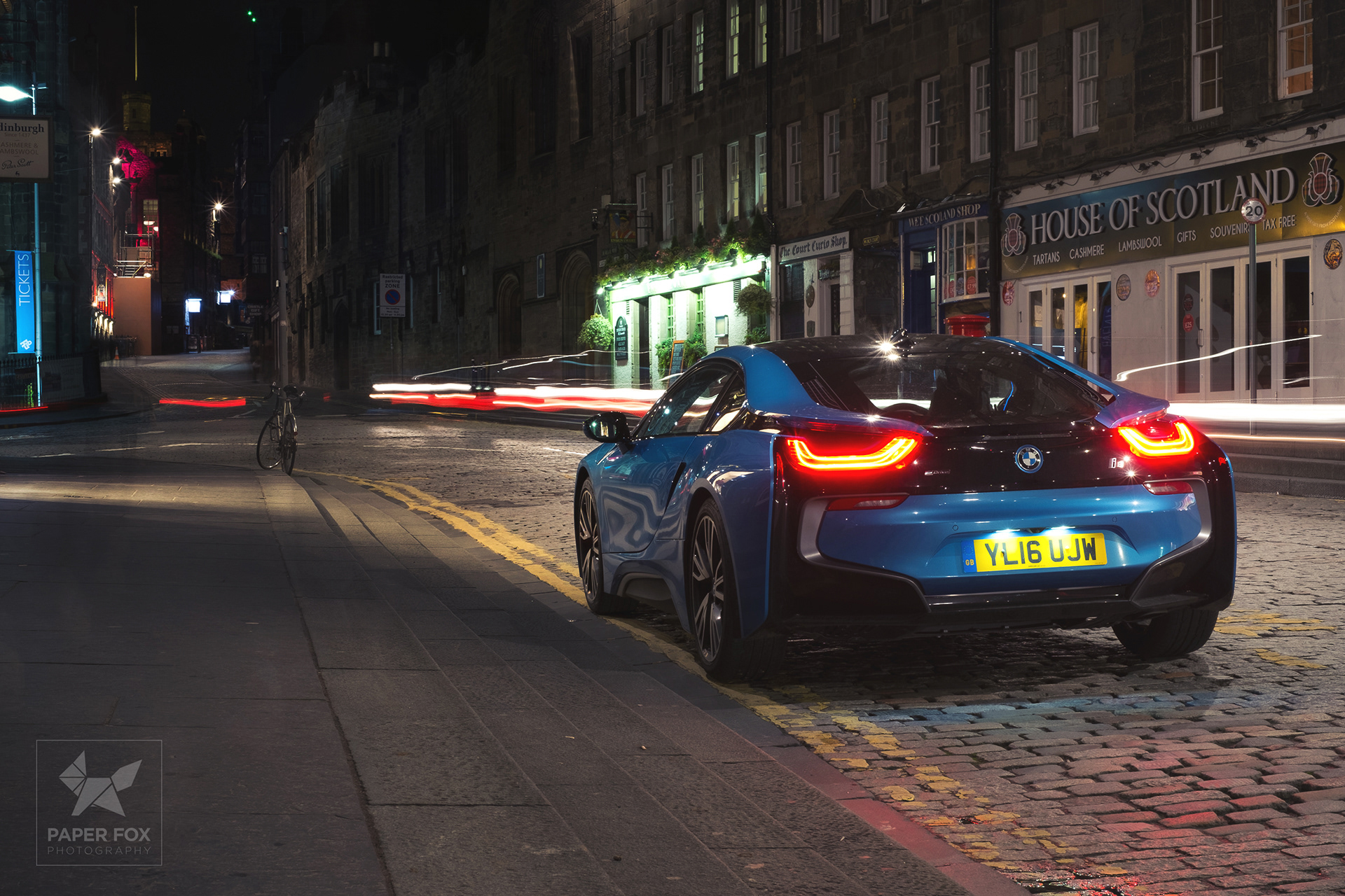 Will Harvey Digital Designer Photographer Edinburgh Bmw I8