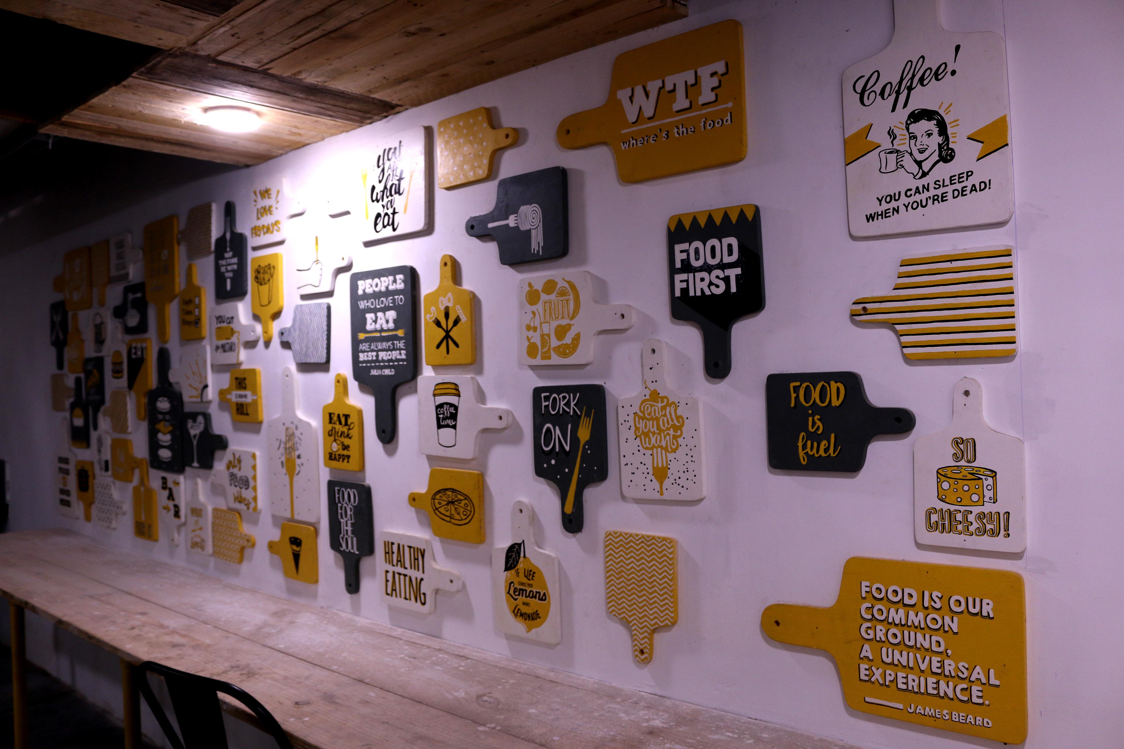 Base 501 Fork Media Wall Murals