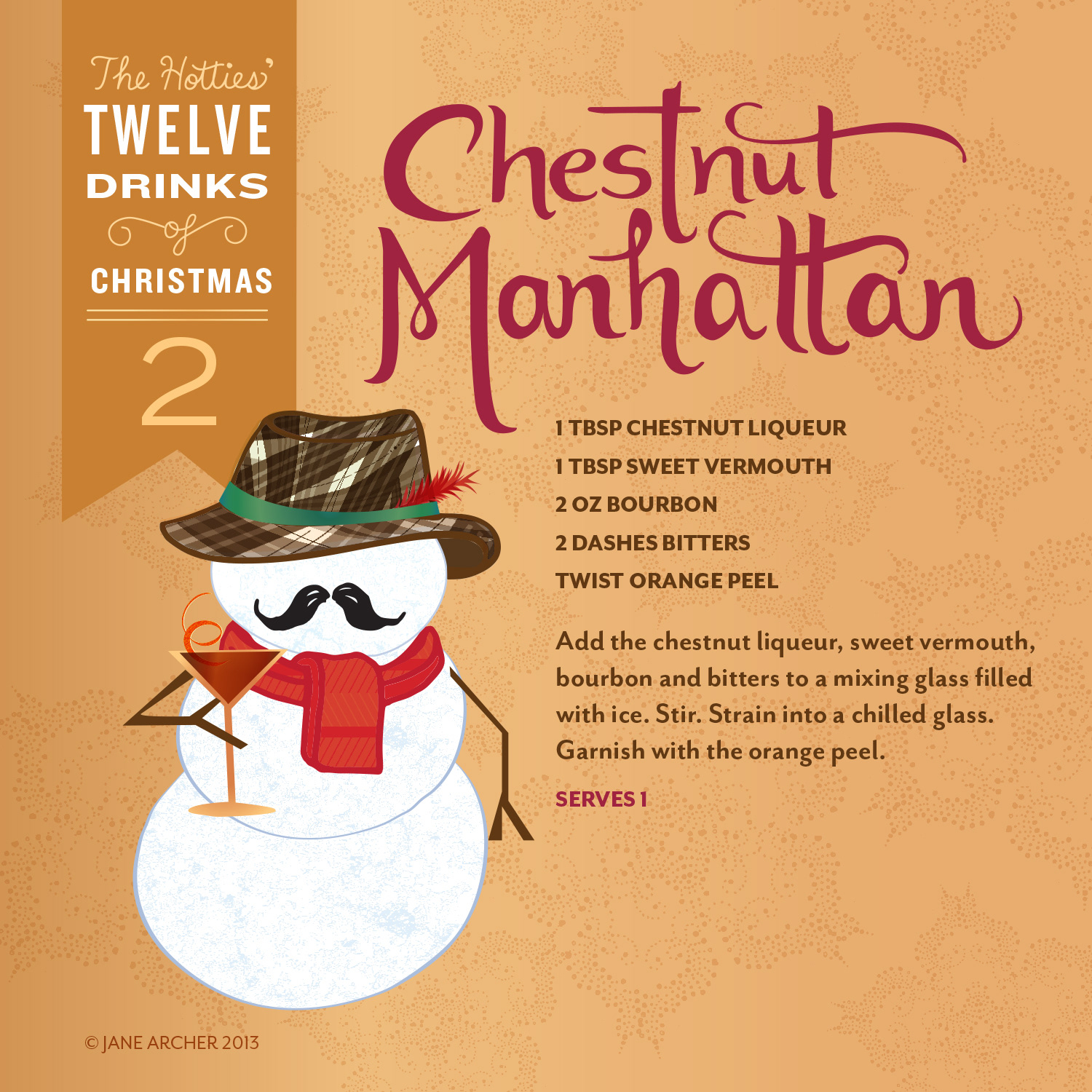 jane archer the hotties 12 drinks of christmas - 12 Drinks Of Christmas