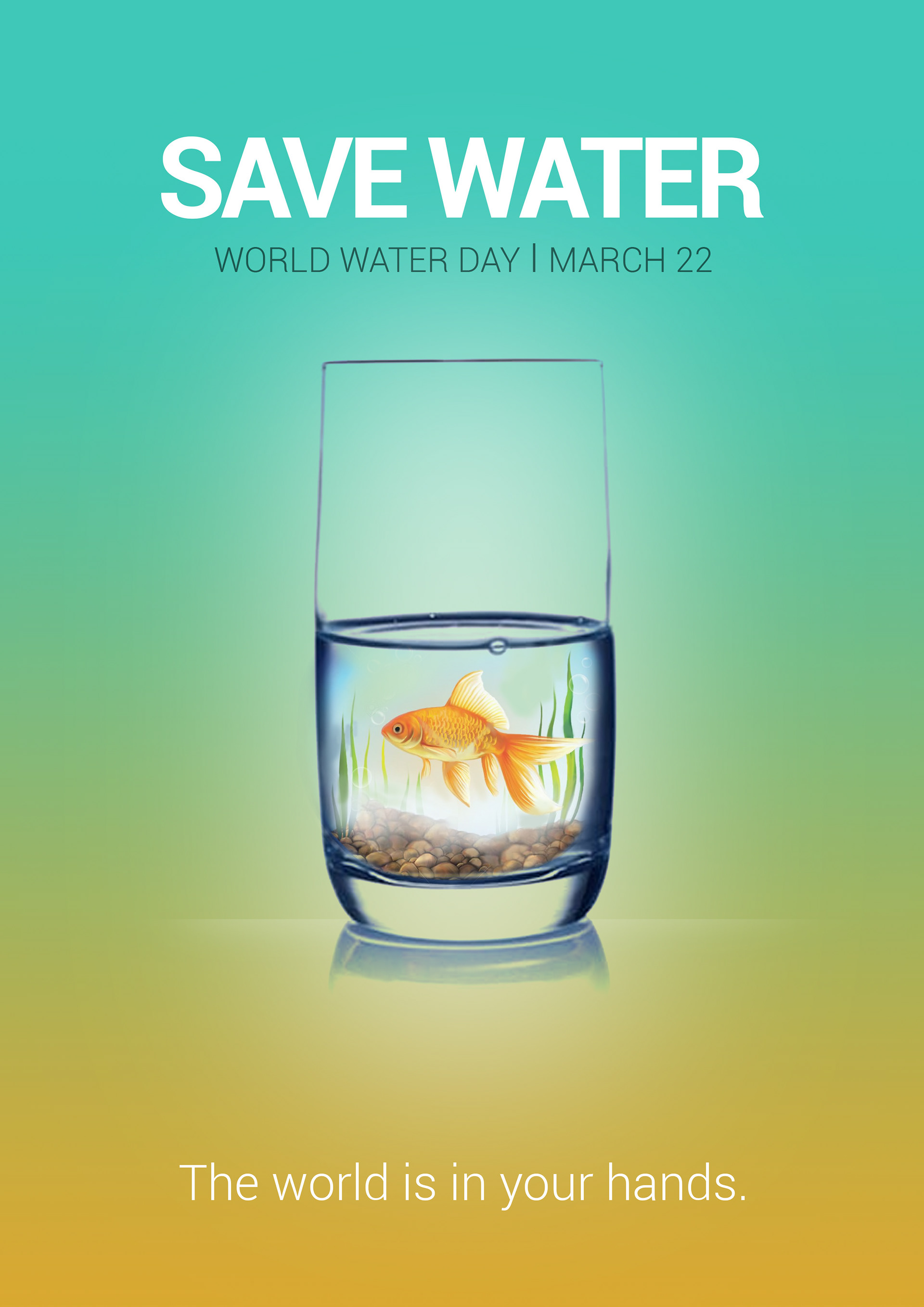 Poster design on save water - Poster Design For Save Water
