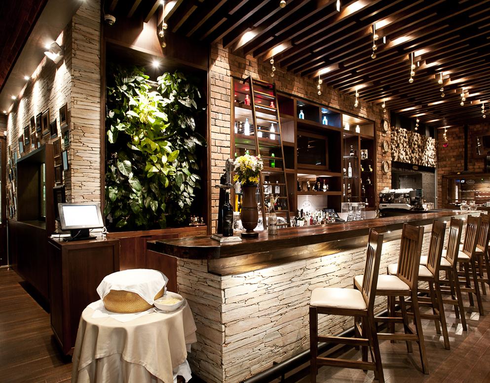 Plasma nodo volare dise o restaurante for Diseno restaurante