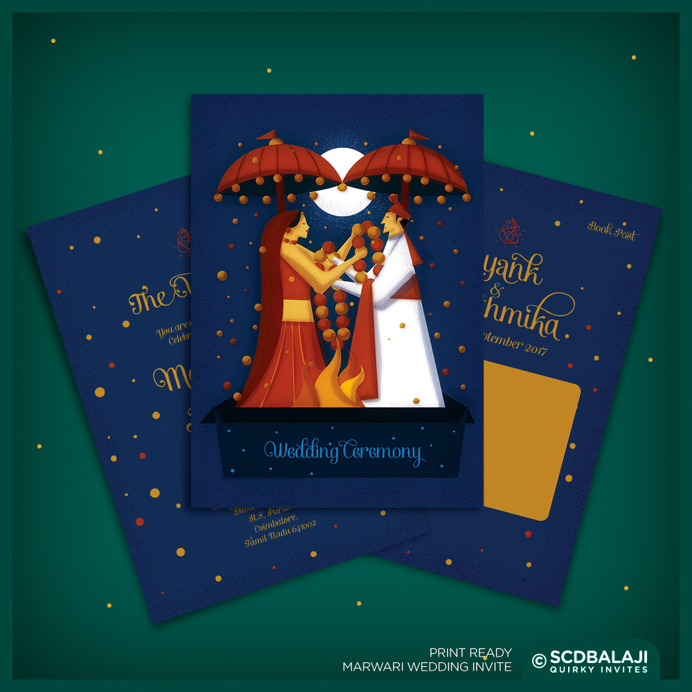 Quirky creative indian wedding invitations indian wedding indian wedding ceremony invitation stopboris Image collections
