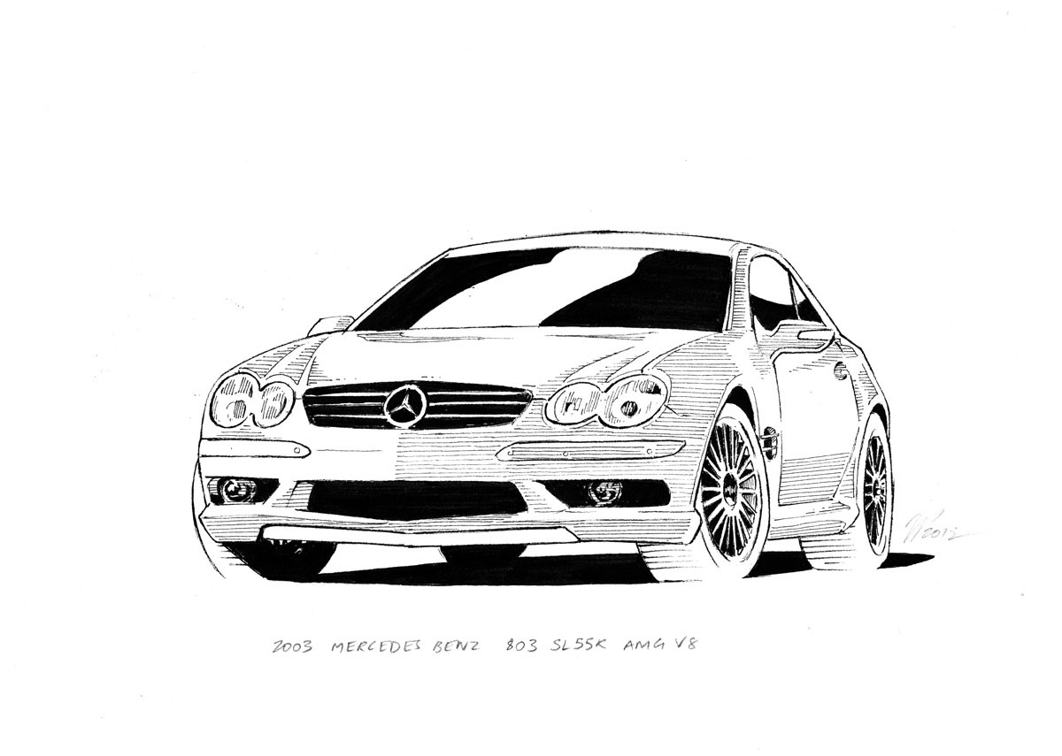 Jeffrey Phillips - Classic Car Illustrations
