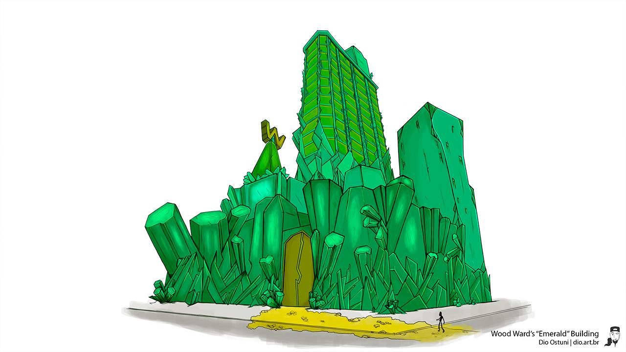 "Wood Ward's ""Emerald"" Building"
