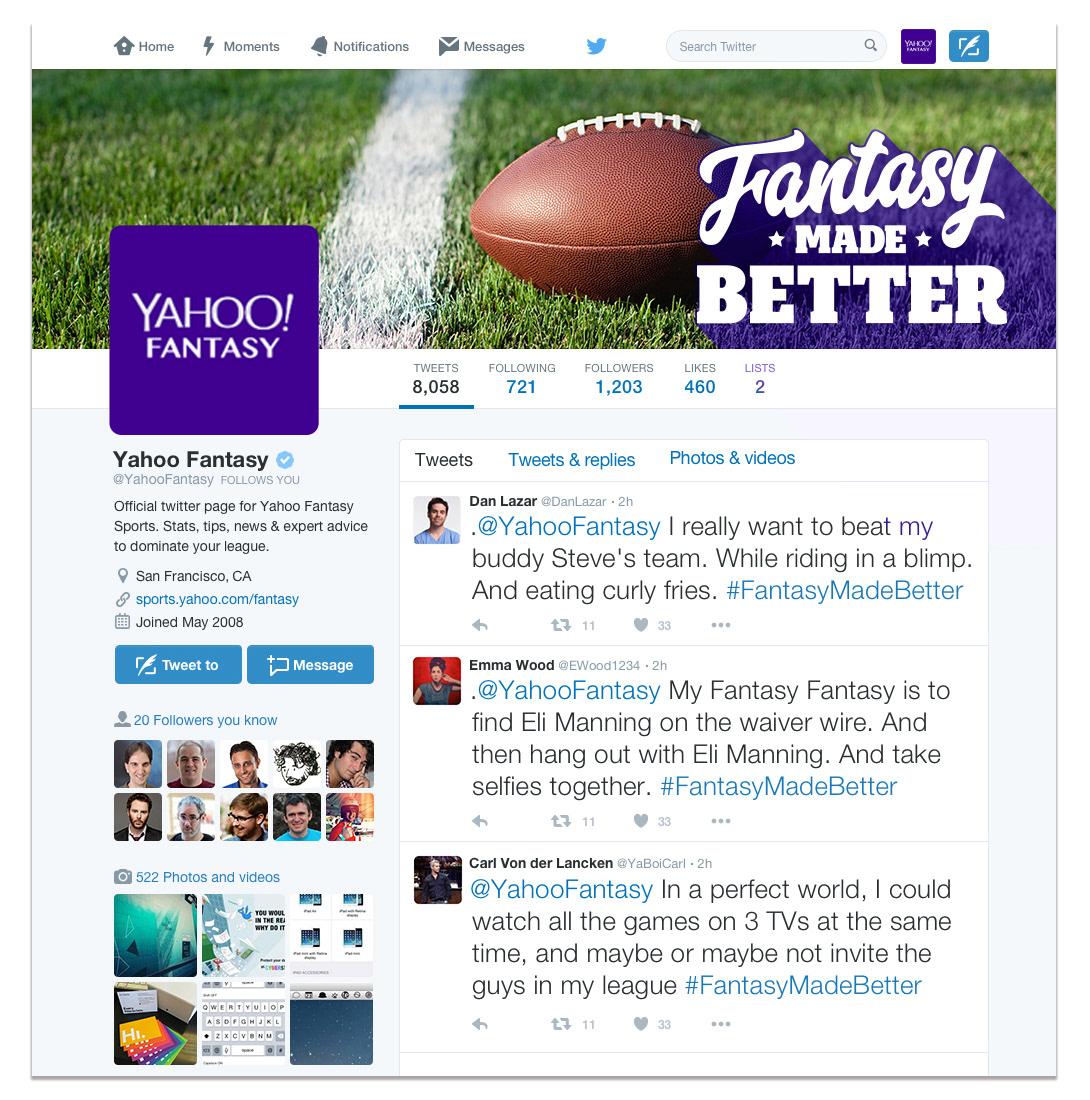 Monica Clarice Escobar Allen - Yahoo! Fantasy Football  Type
