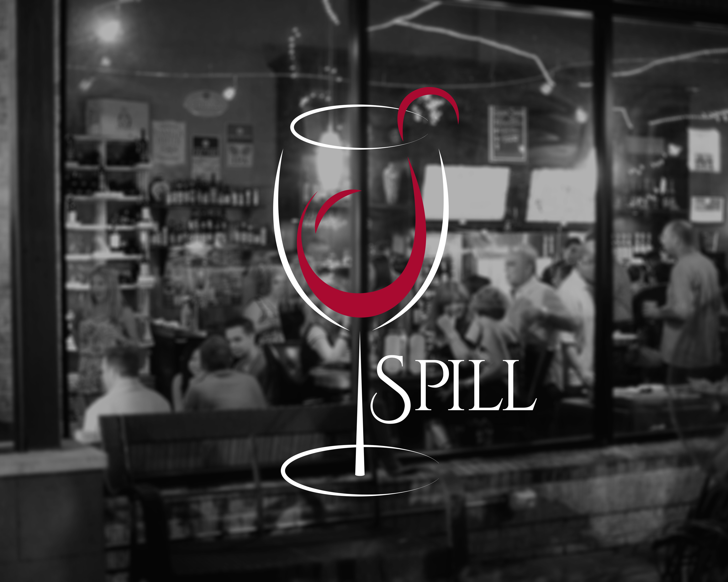 Melissa lynn design spill wine bar for Abby brookes salon