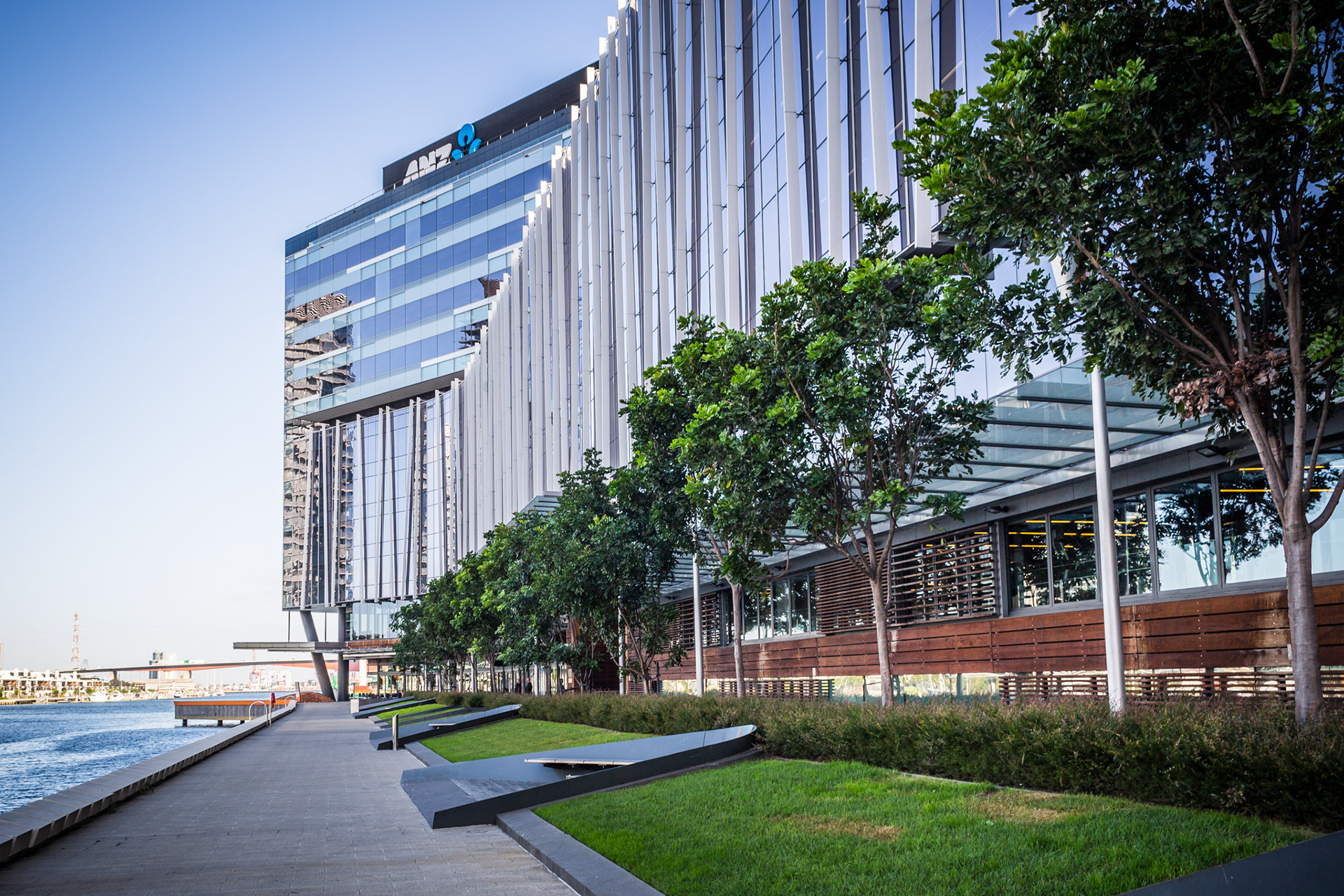 anz melbourne office. Exterior Photography Of The ANZ Building, Docklands, Melbourne For RCP Victoria Anz Office