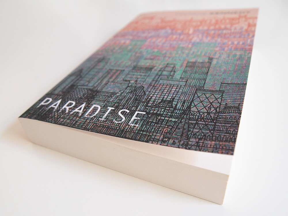 paradise by a l kennedy Commissioned by penguin random house, this new cover artwork for paradise by al kennedy was published as part of a 'modern scottish classics' collection.