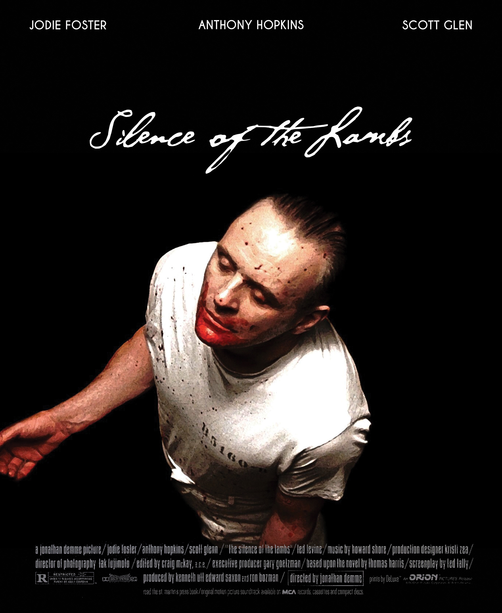 """a report on the silence of the lambs a movie by jonathan demme Following """"the silence of the lambs,"""" demme used his clout to make """" philadelphia,"""" one of the first major studio films to tackle the aids crisis."""