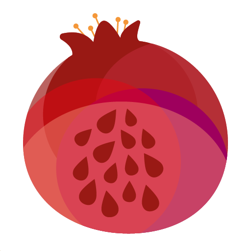 Saliha Soylu Logo: A red pomegranate
