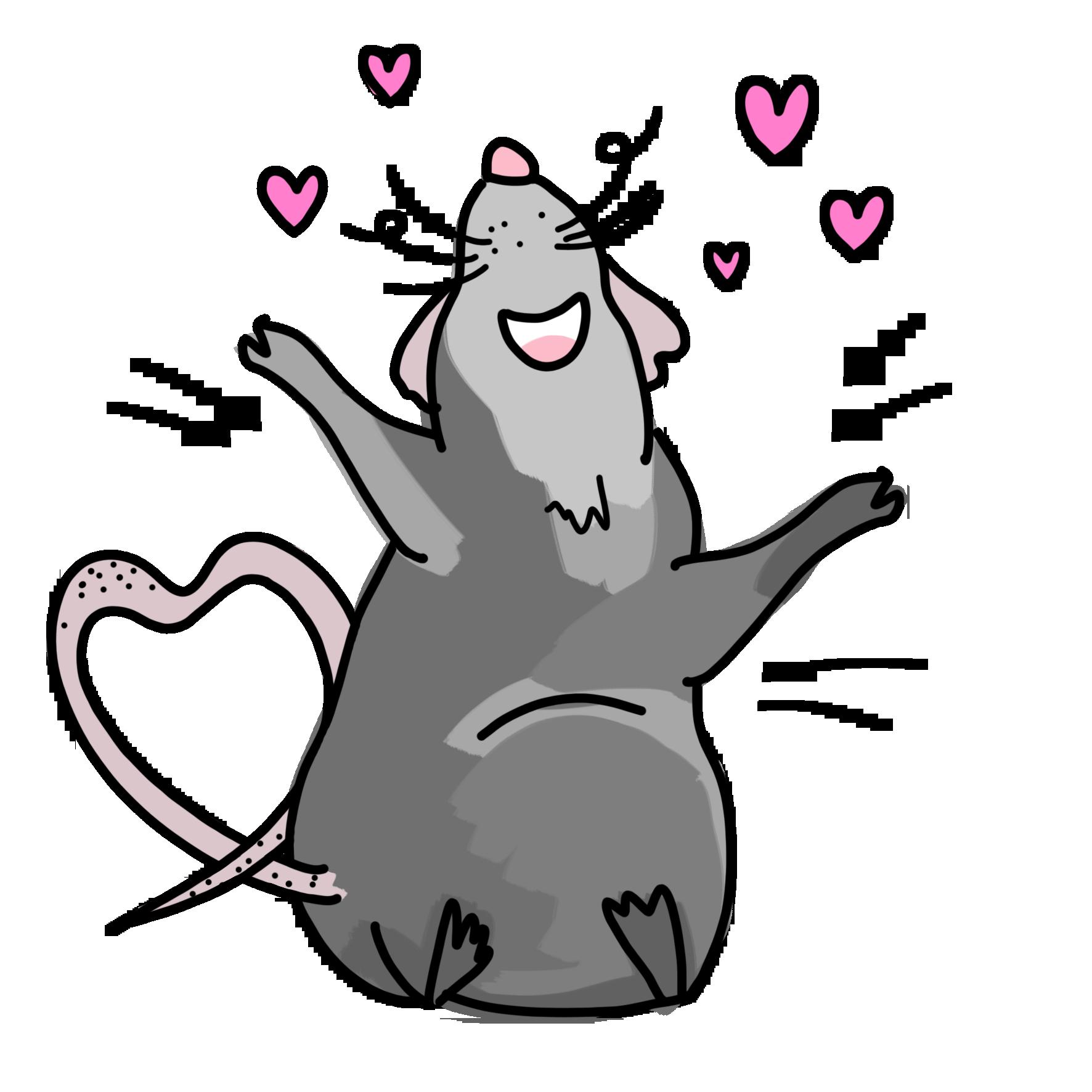 картинки прикольных крыс в векторе чемпион мира