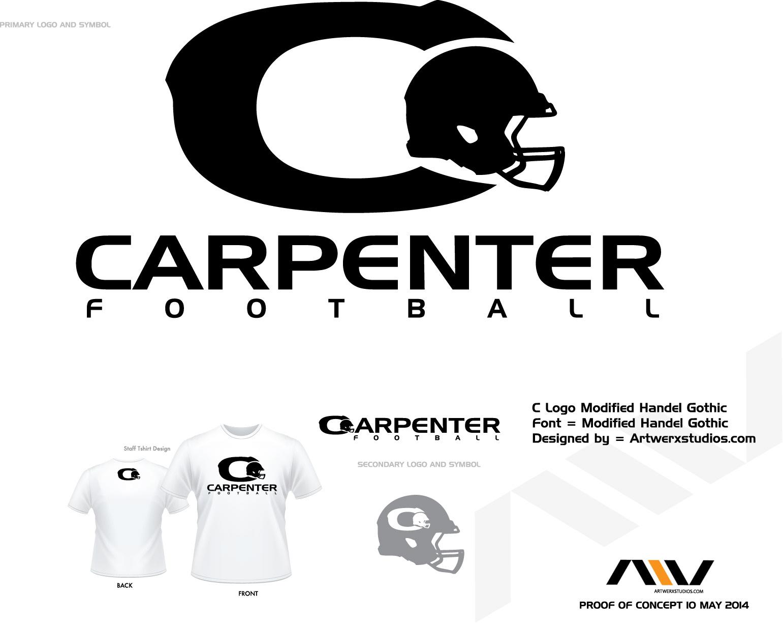Arthur Rogers Carpenter Sport Logo Design