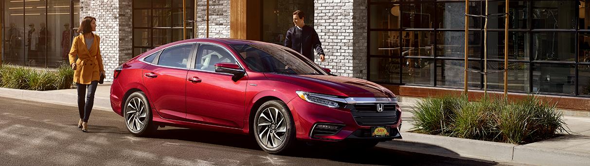 The All-New 2019 Red Honda Insight Hybrid Sedan at Jay Honda