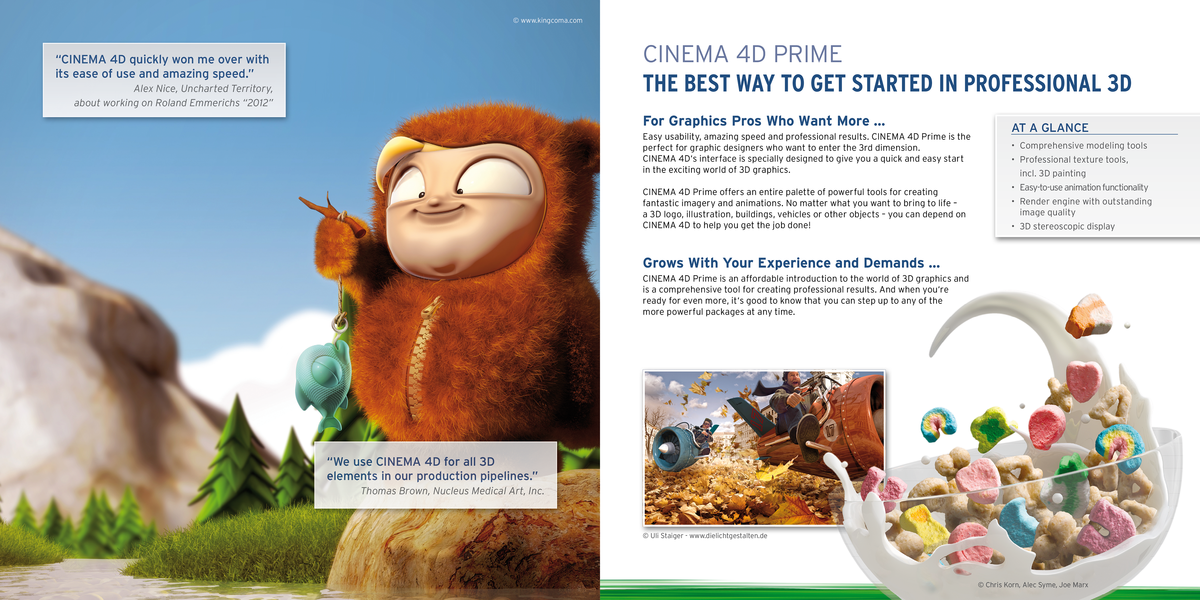 Aron Schmid's Portfolio - CINEMA 4D Release 14
