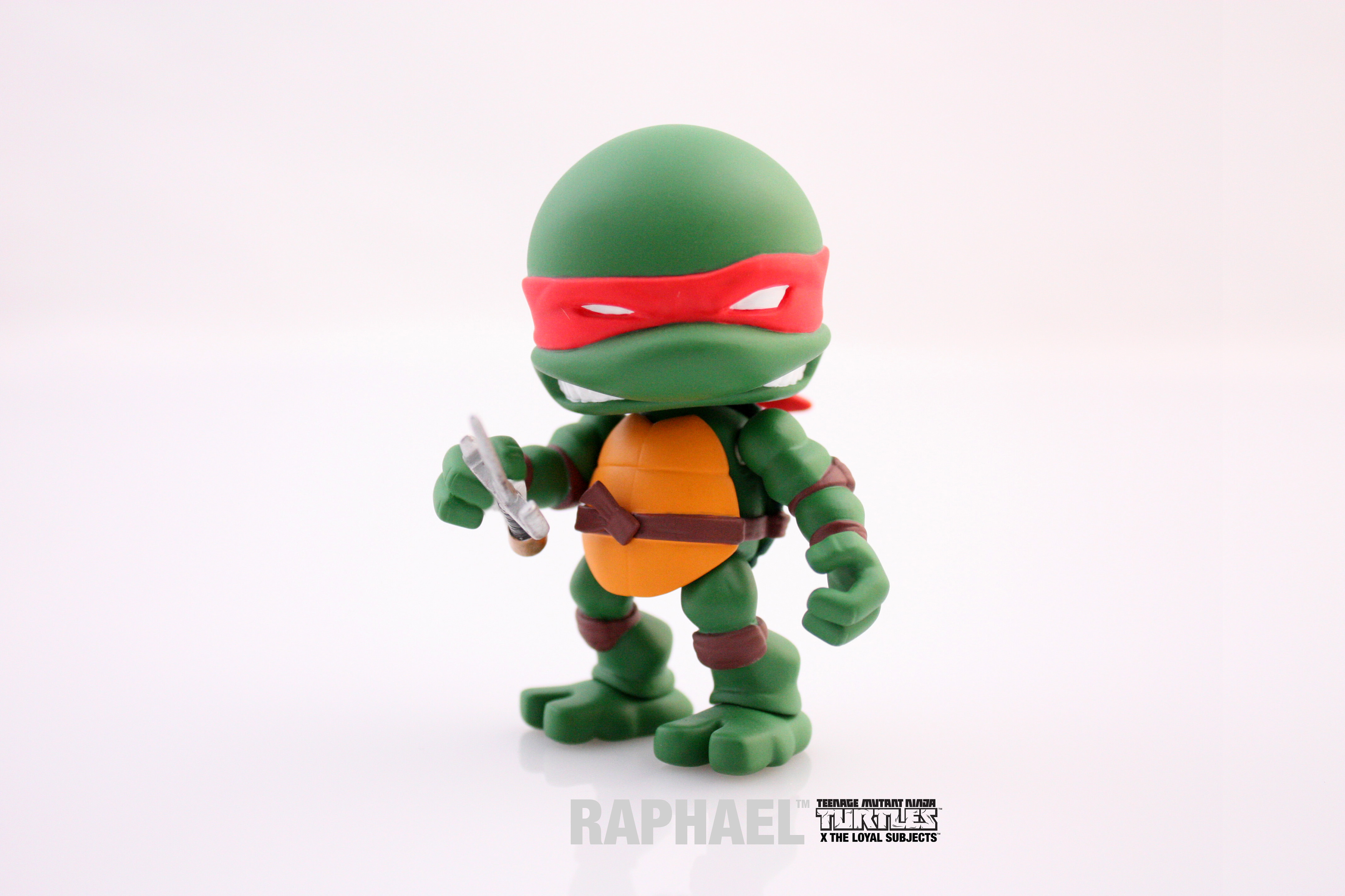 Joe Allard Teenage Mutant Ninja Turtles Mini Figure Designs