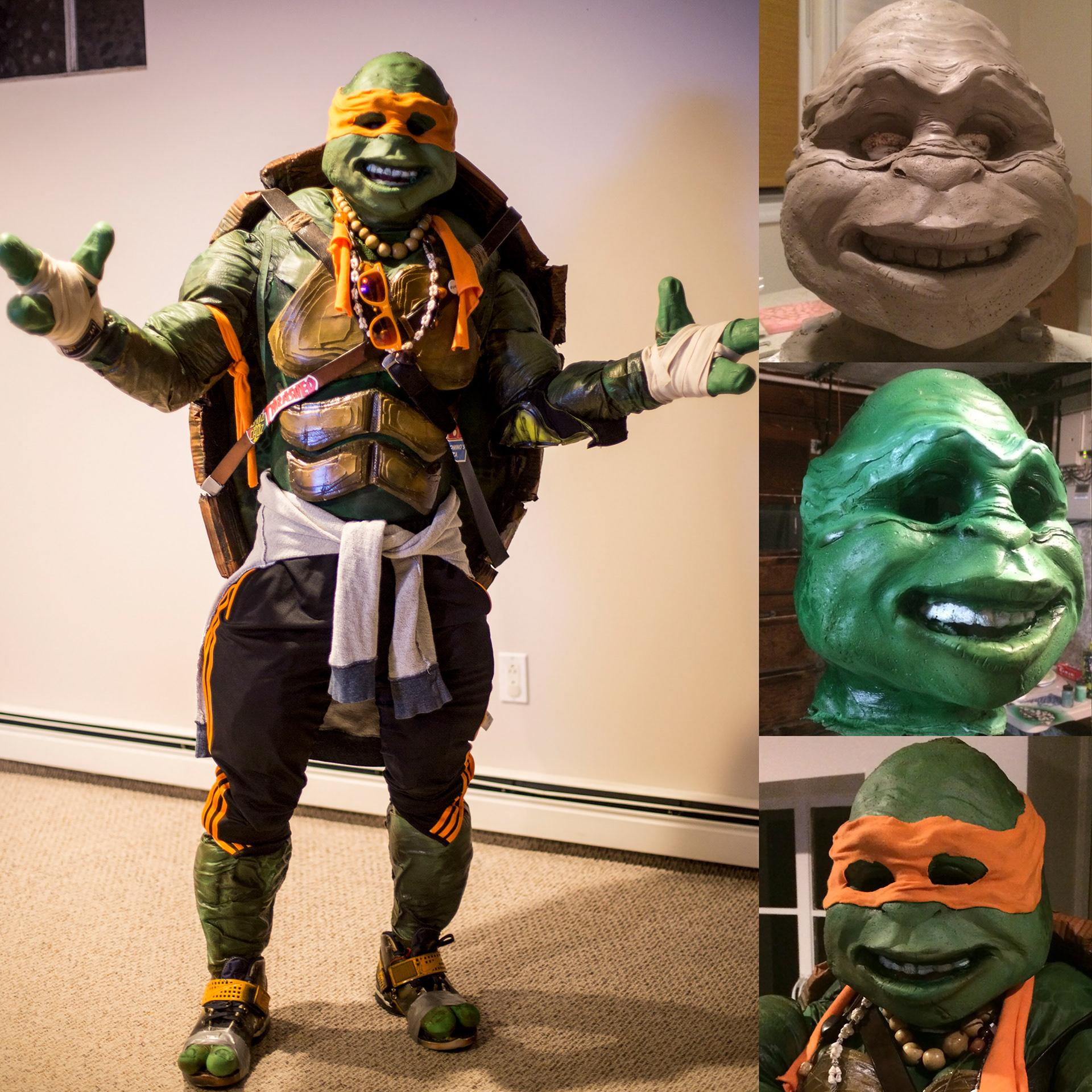 Renot lopes ninja turtle costume ninja turtle costume homemade halloween costume 1st place winner 2015 boston costume contest solutioingenieria Image collections