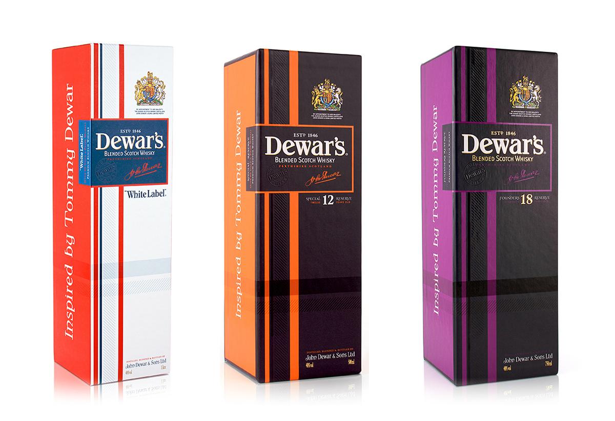 dewar s brand repositioning