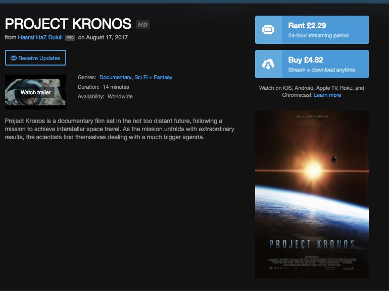 HAZ FILM - PROJECT KRONOS