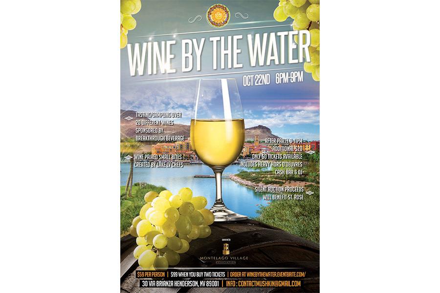 Jokic Design - Wine By The Water Flyer