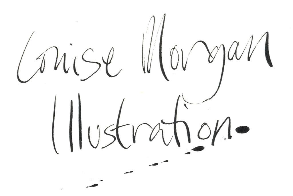 louise morgan, illustrator illustratore