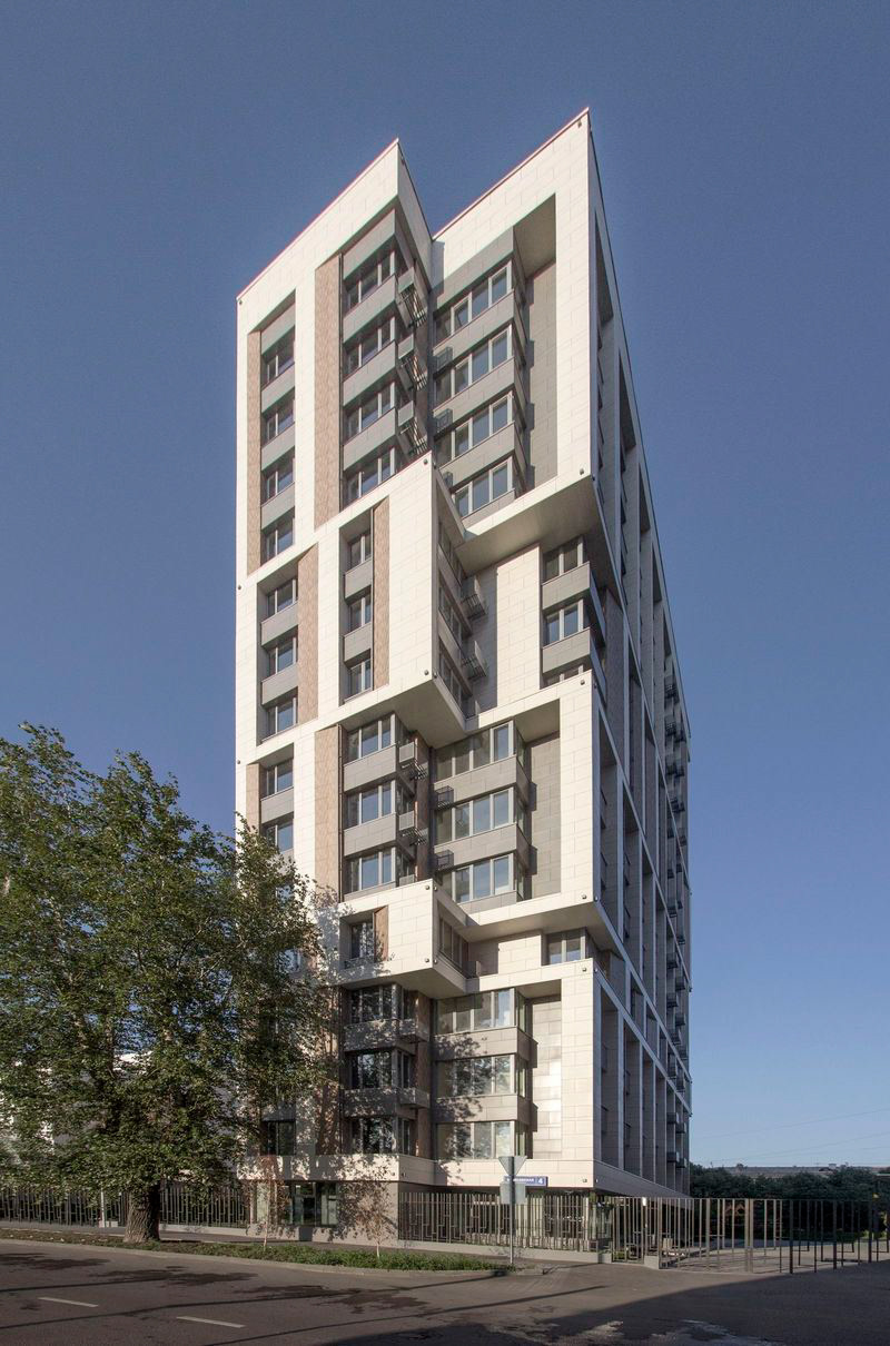 Borisovskaya high-rise apartment building - DIDORENKO