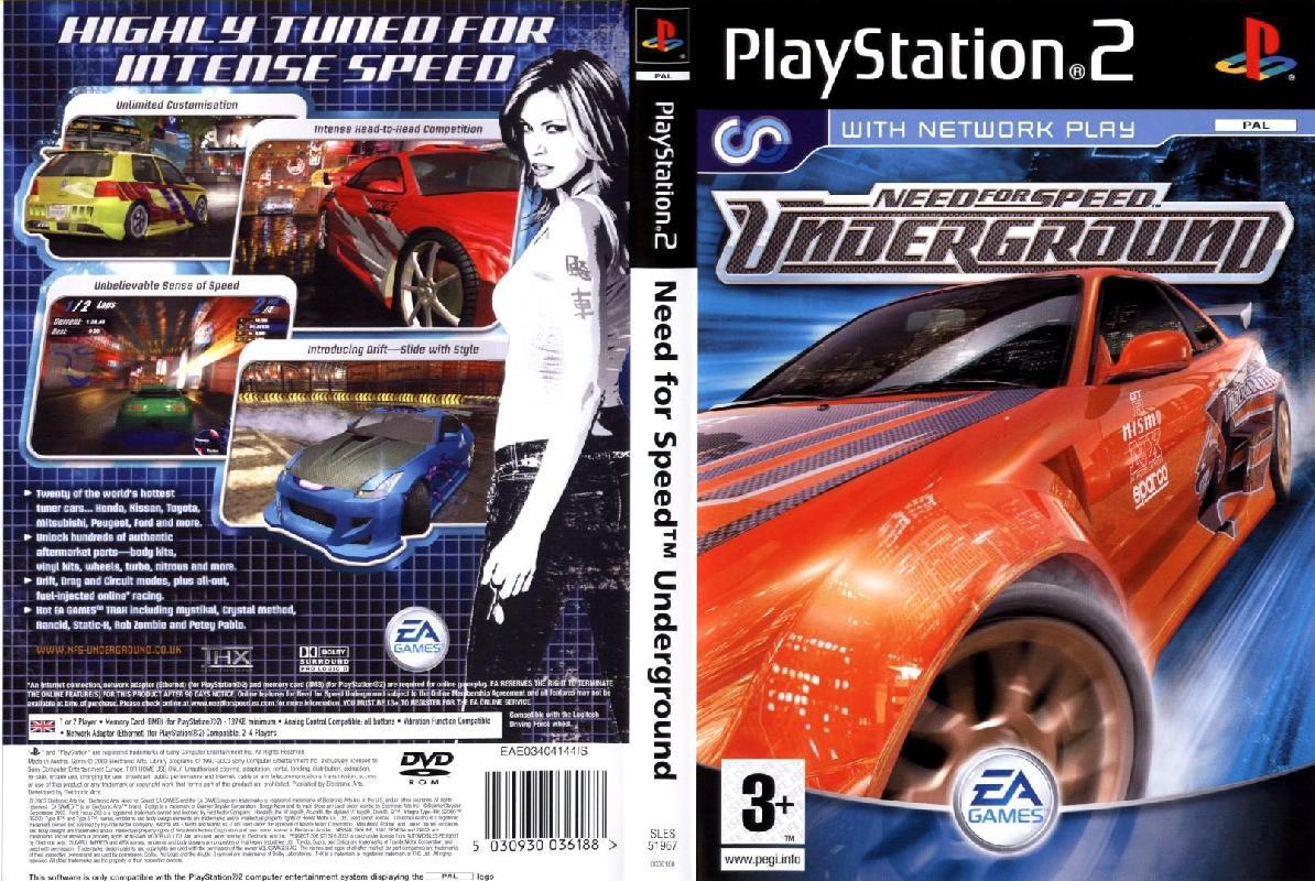 Kaan Kayimoglu Need For Speed Underground Playstation 2